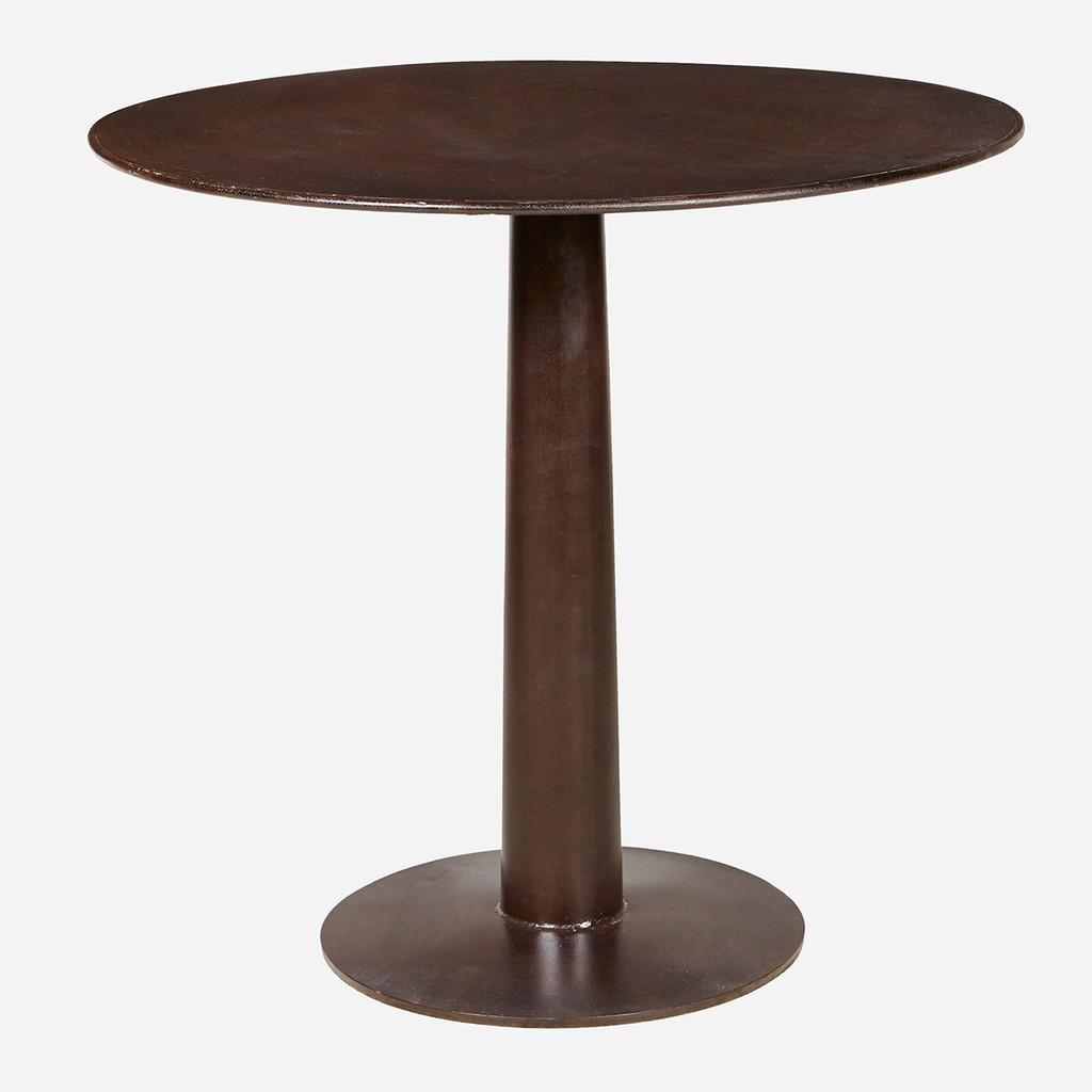 Round Iron Bistro Table