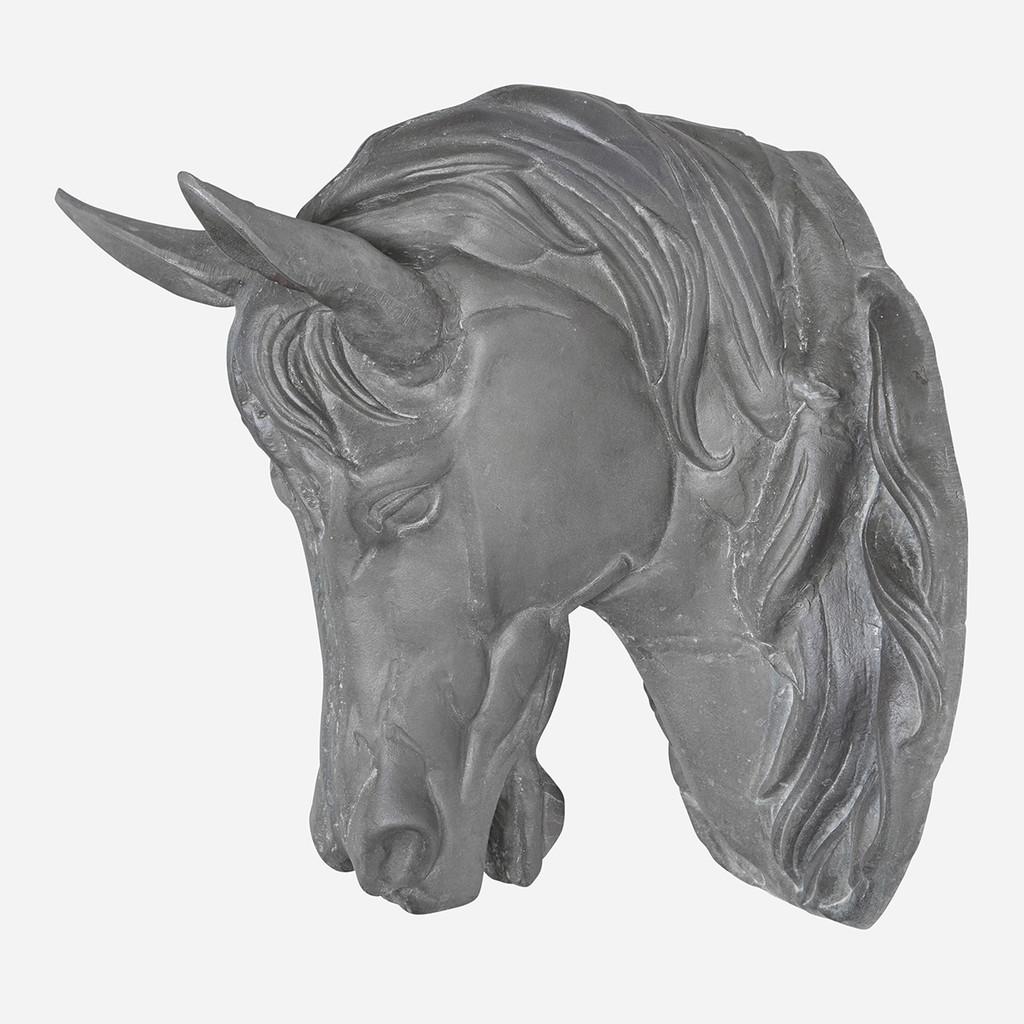 Zinc Horse Head