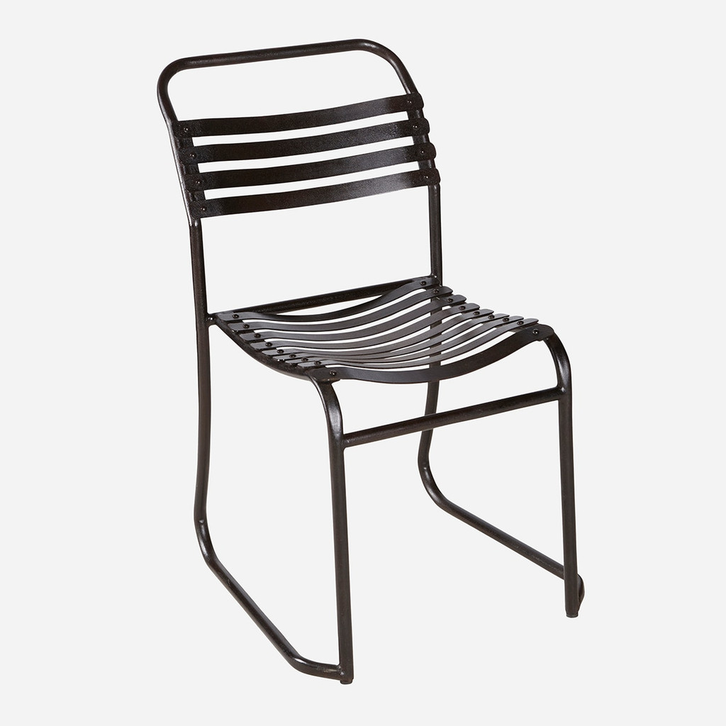 Rubber Slatted Stacking Chair (PC)