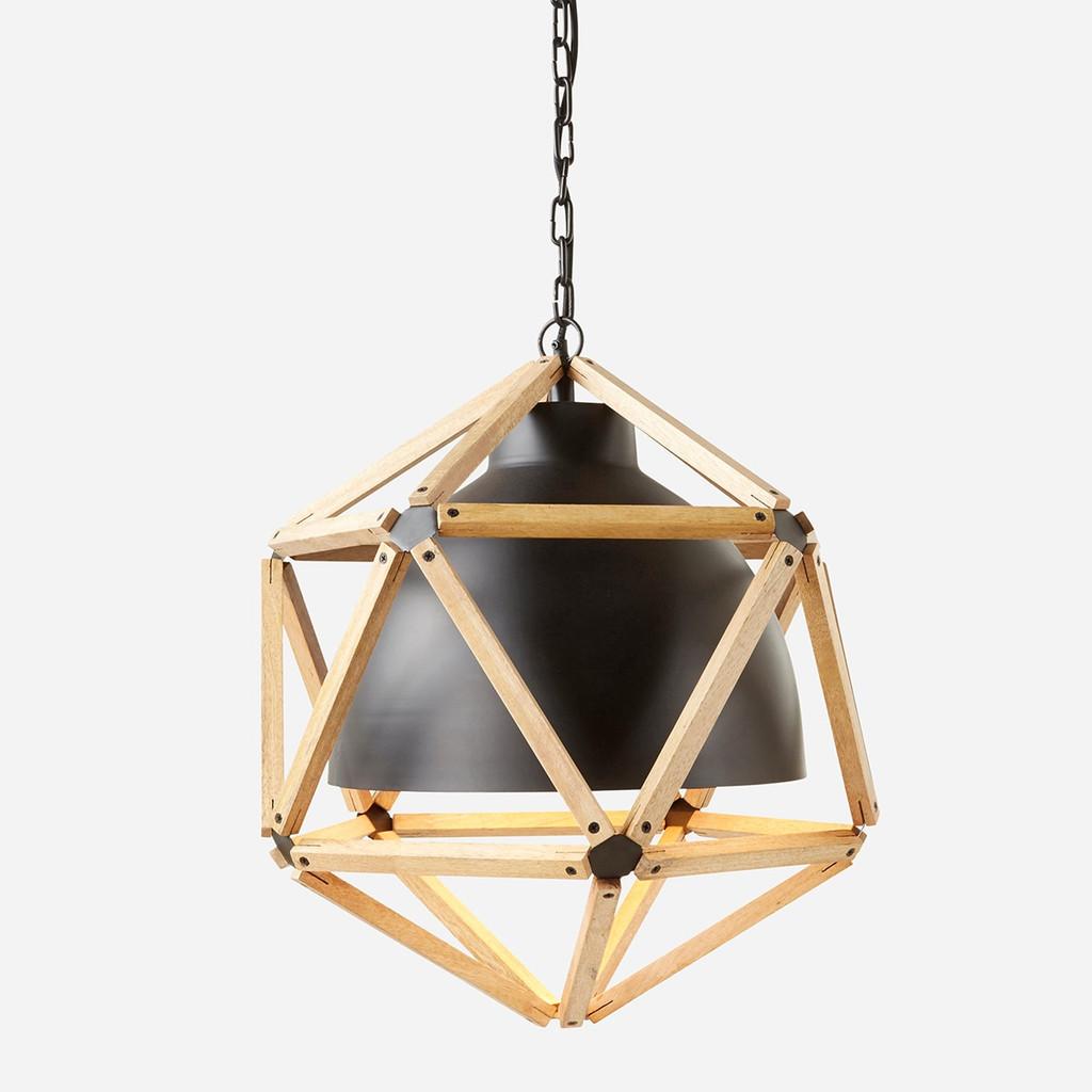 Polyhedron Gas Station Pendant