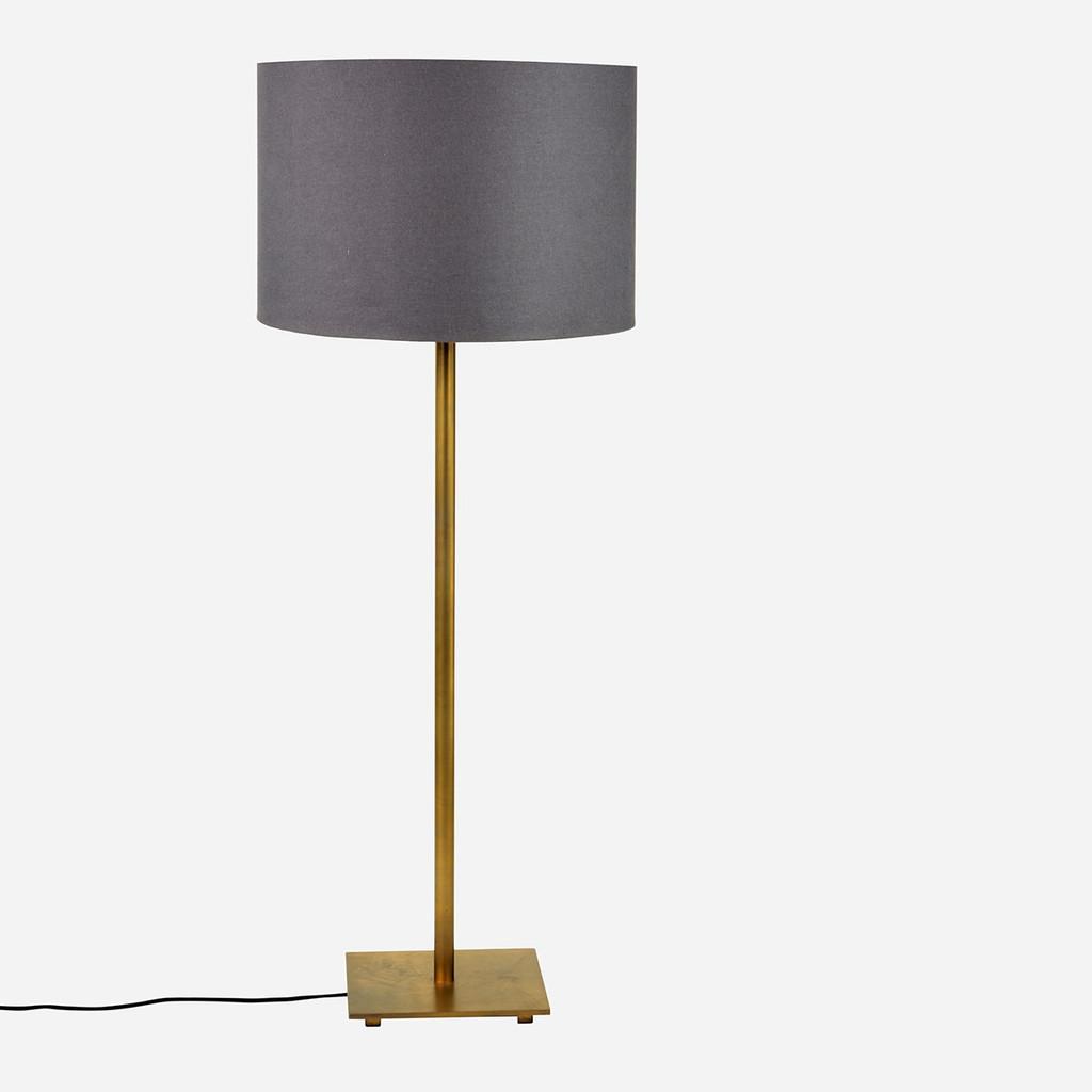 Adjustable Floor Lamp, Antique Brass