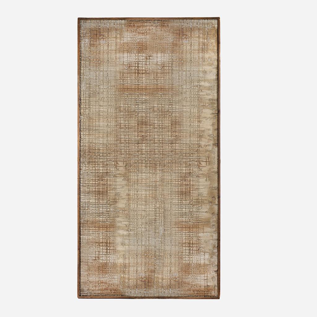 Cobblestone Wood Art, Full 51x100in