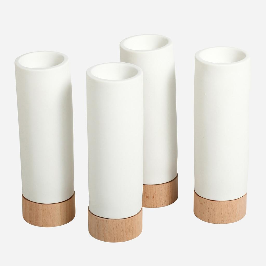 Ceramic Tea Light Holder, LG S/6