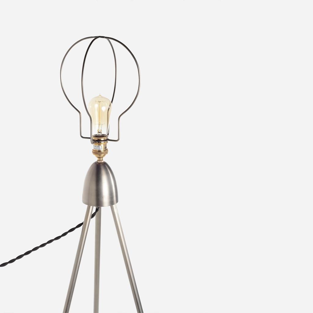 Tripod Cage Floor Lamp