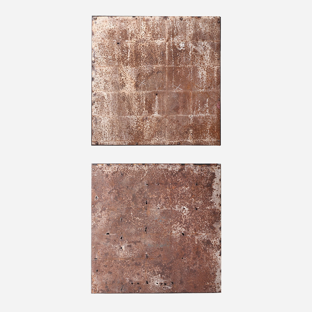 Reclaimed Metal Panel 30x30