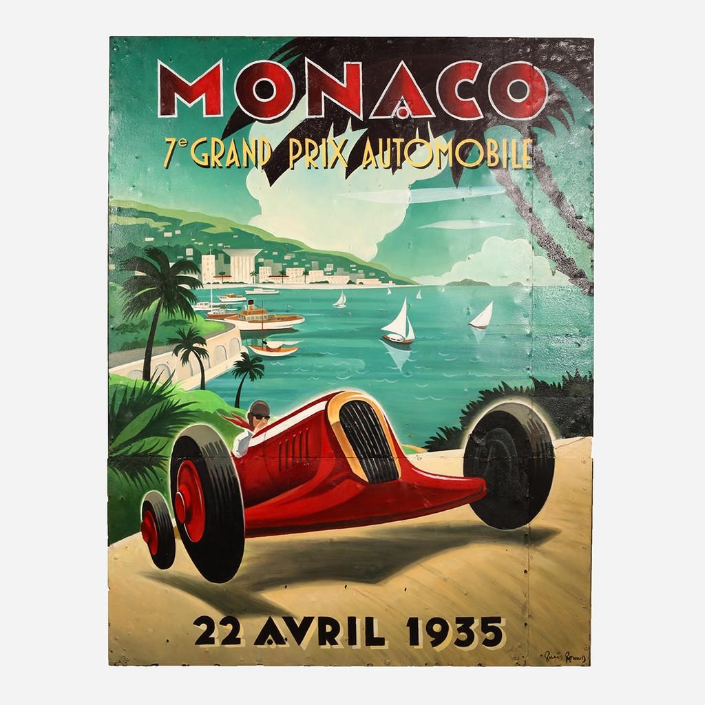 Art on Reclaimed Metal, Monaco