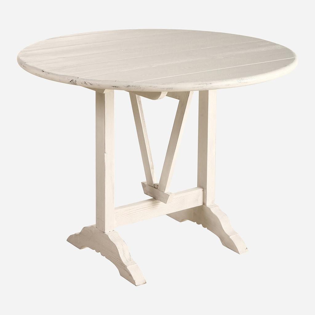 Bordeaux Table, Whitewash