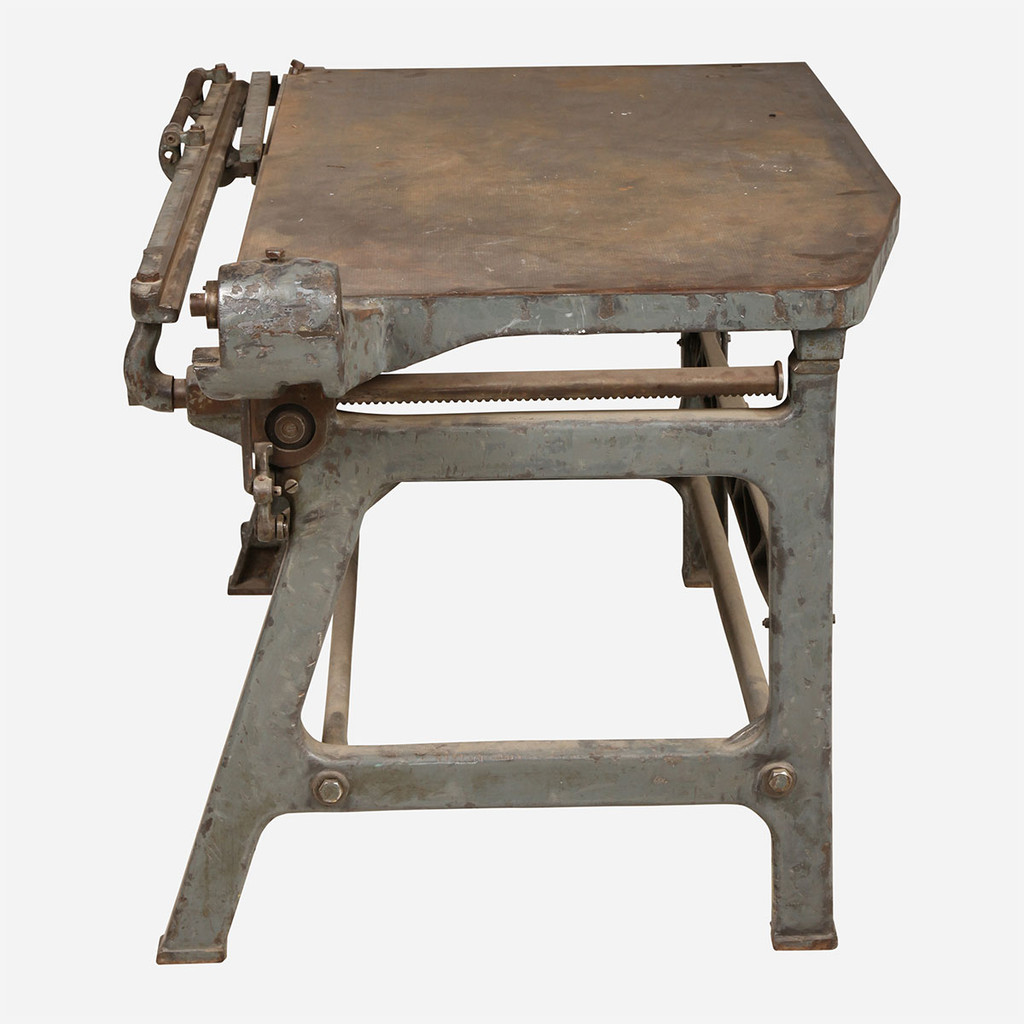 Iron Leather Cutting Table
