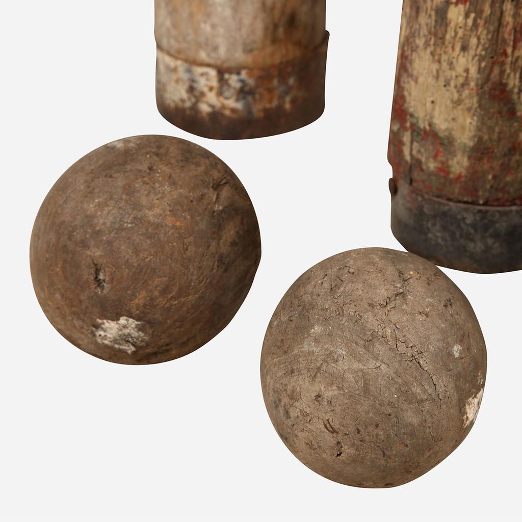 Antique Skittles Set