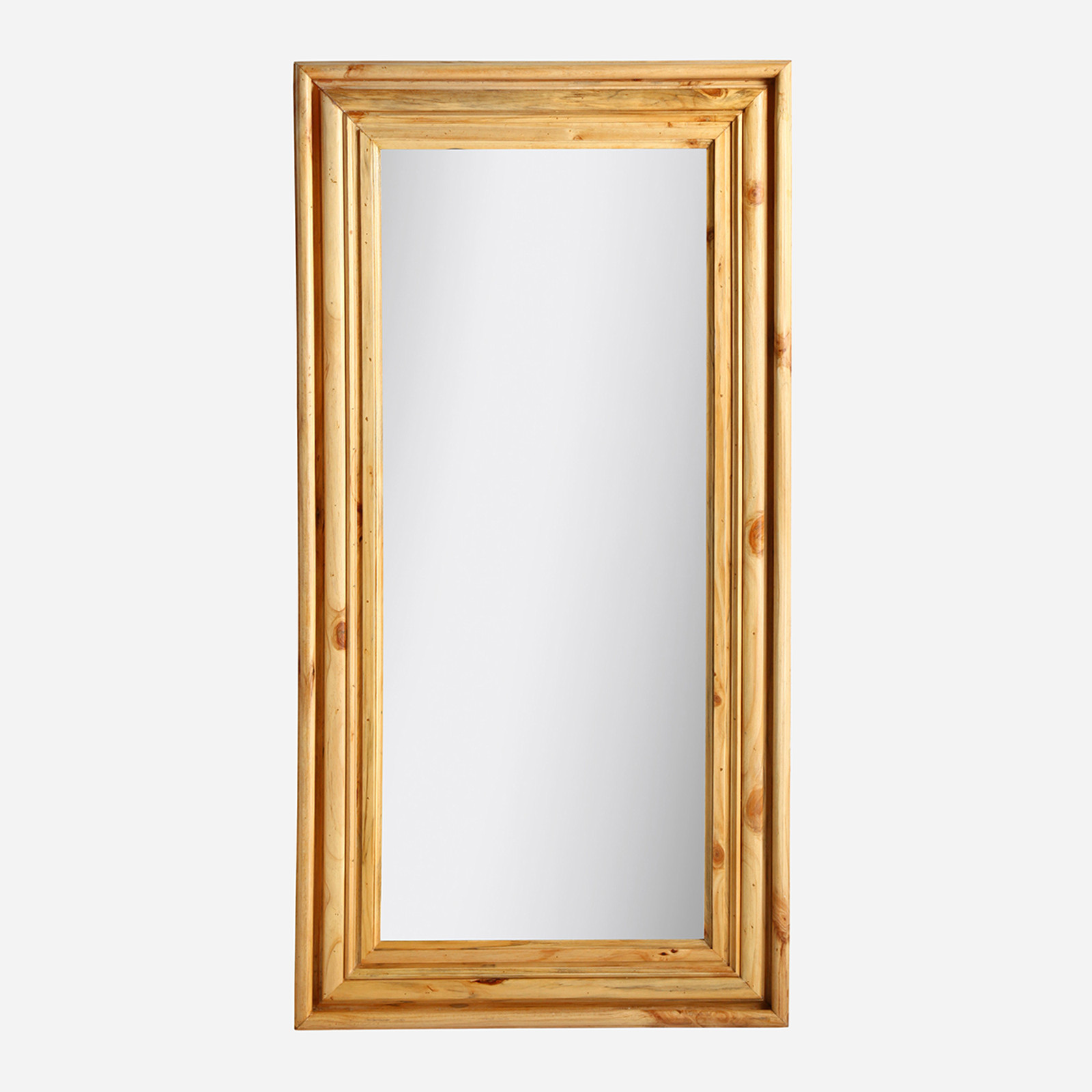 Floor Length Pine Mirror (Natural) (WHS Open Box Stock)