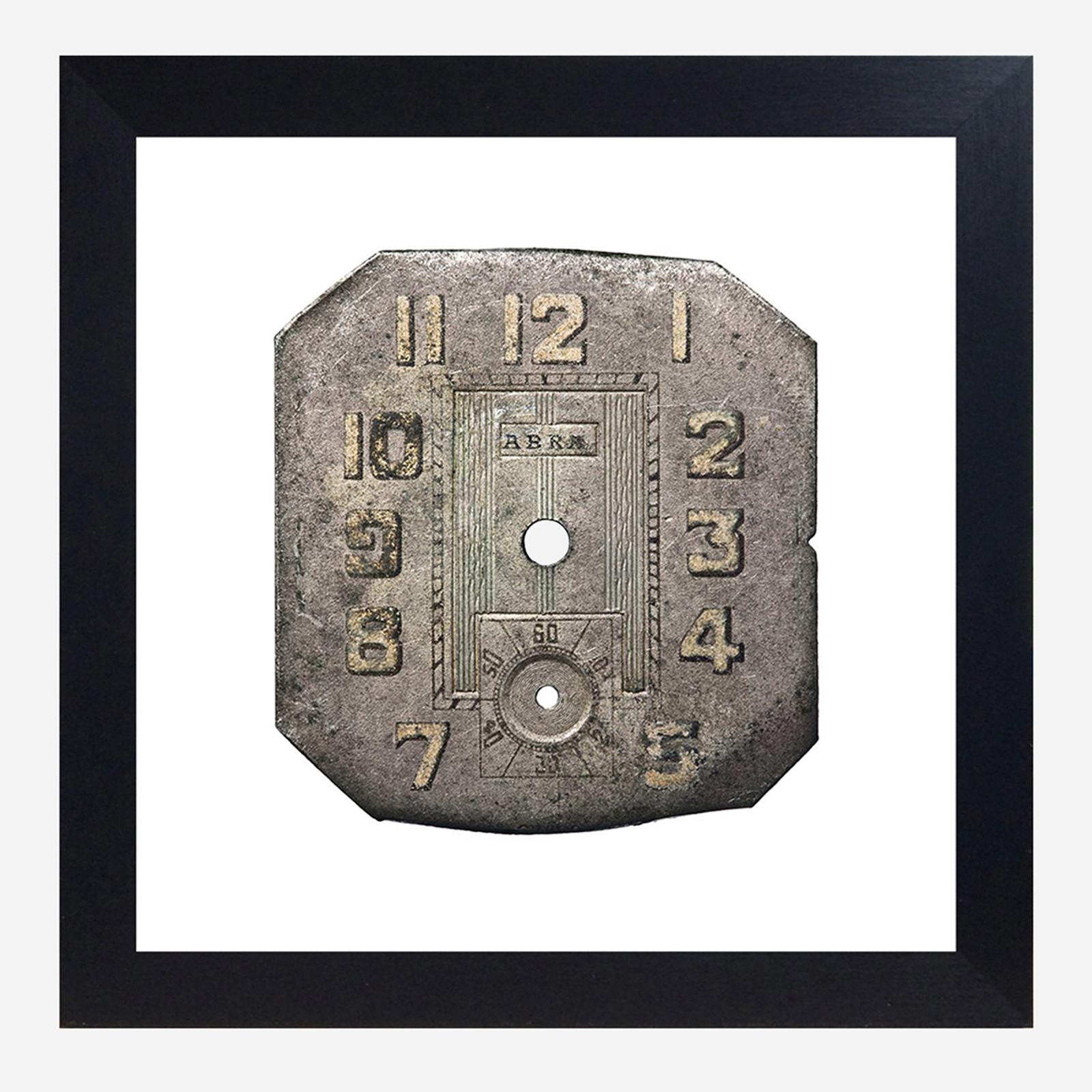 Framed Watch Face Print, Abra 10x10 (WHS Open Box Stock)