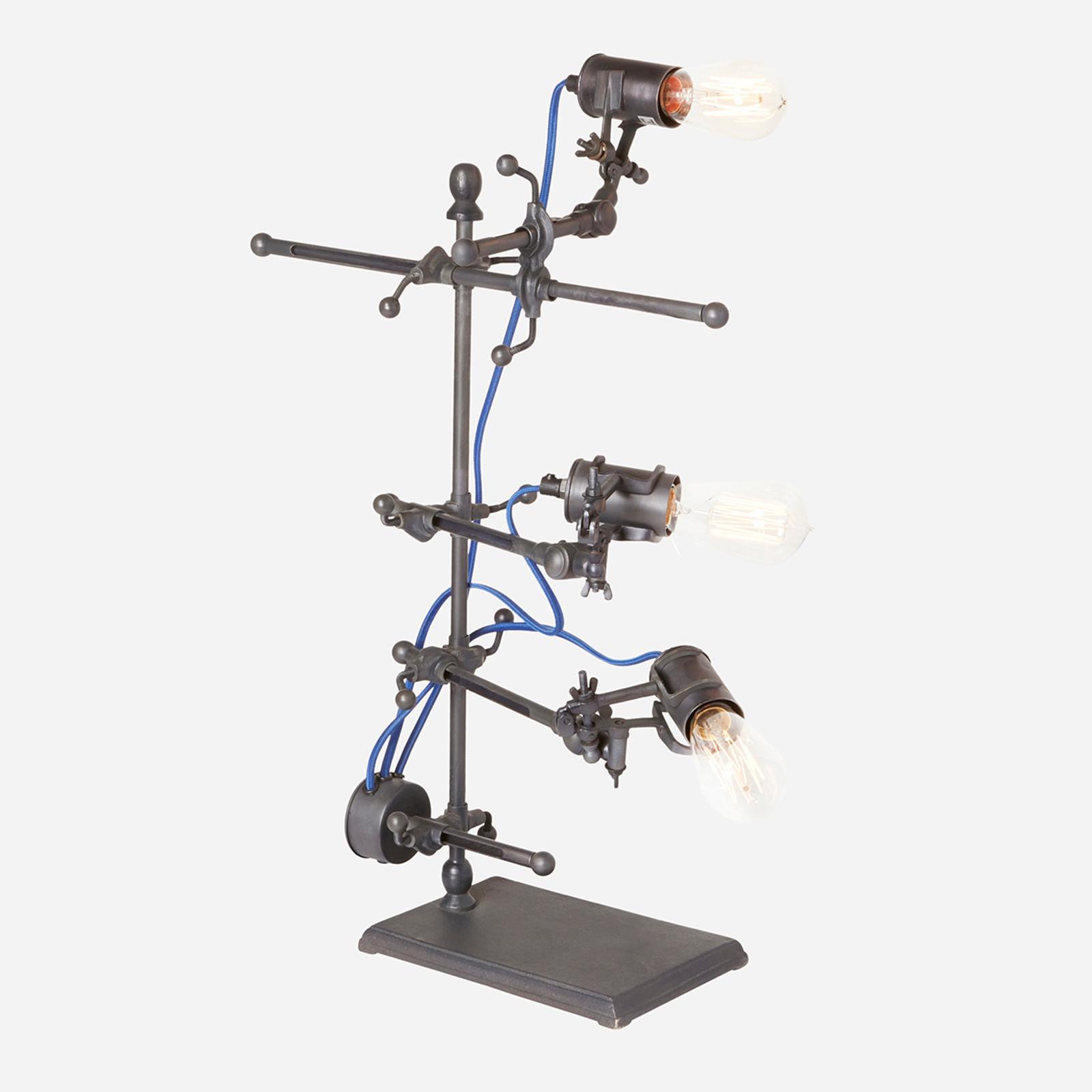Emmett Adjustable Clip Lamp Electric Blue (WHS Open Box Stock)