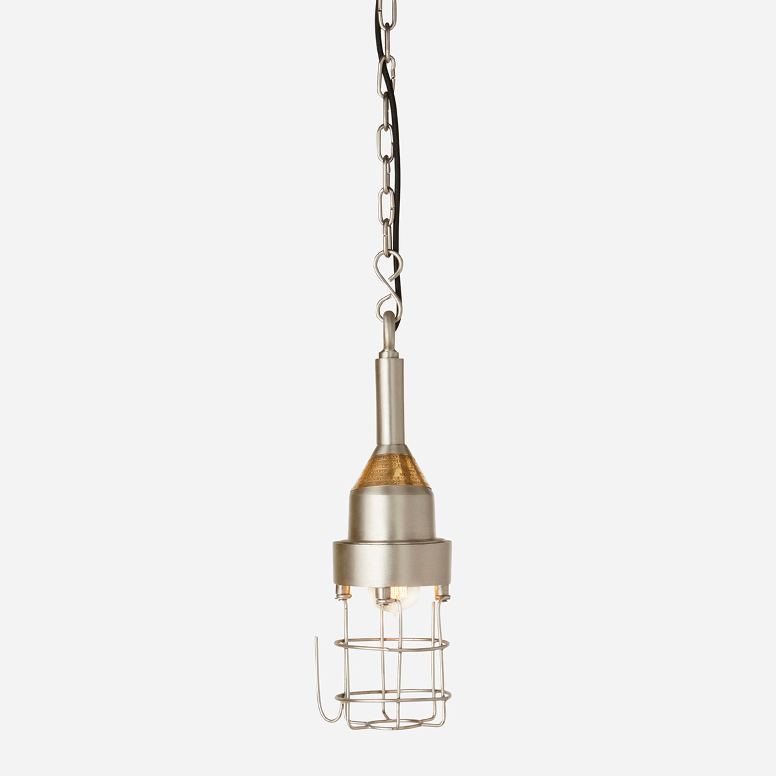Industrial Cage Pendant (WHS Open Box Stock)