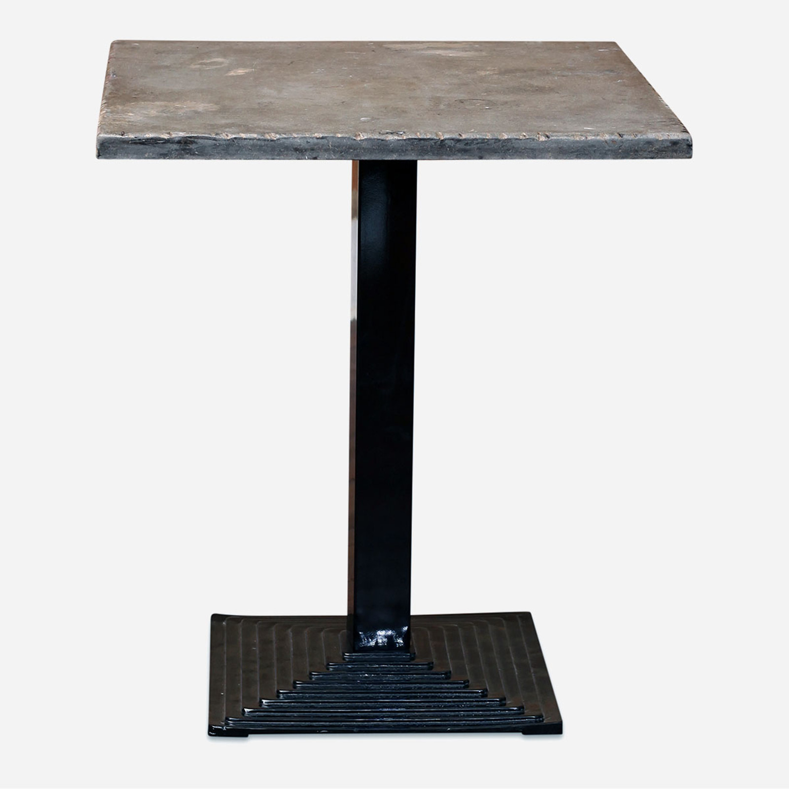 Deco Bistro Table, Blue Stone