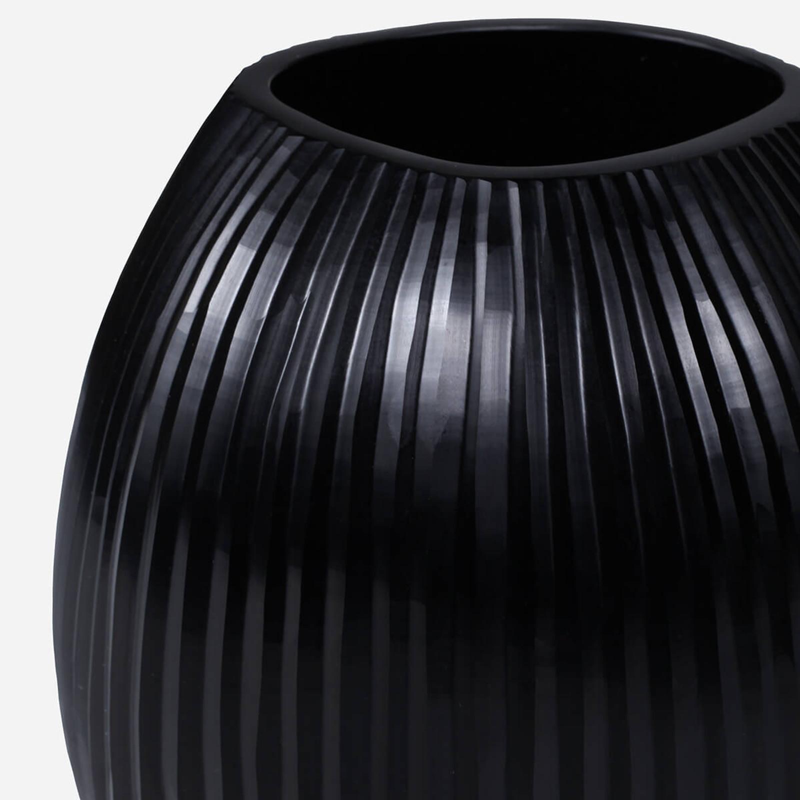 Seine Medium Vase, Black
