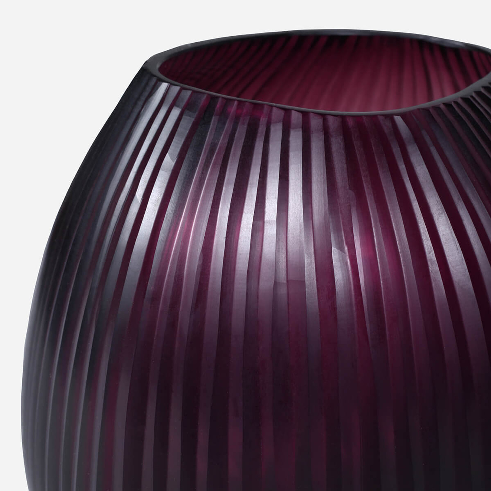 Seine Medium Vase, Amethyst