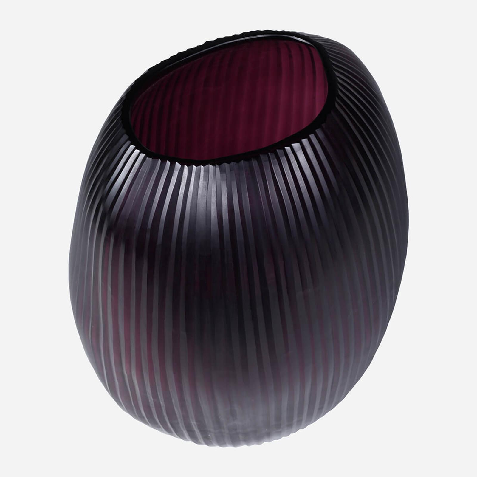 Seine Large Vase, Amethyst