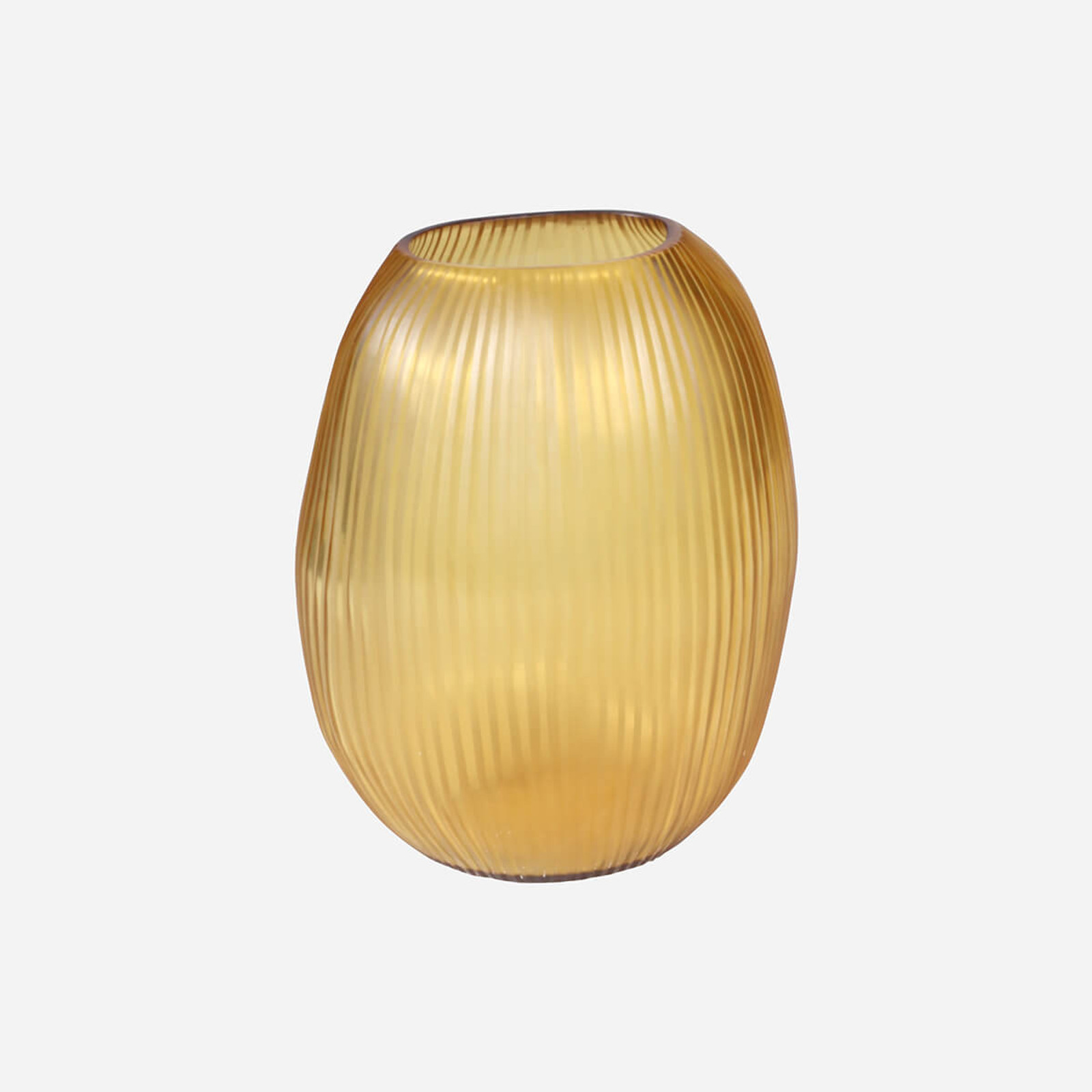 Seine Large Vase, Gold