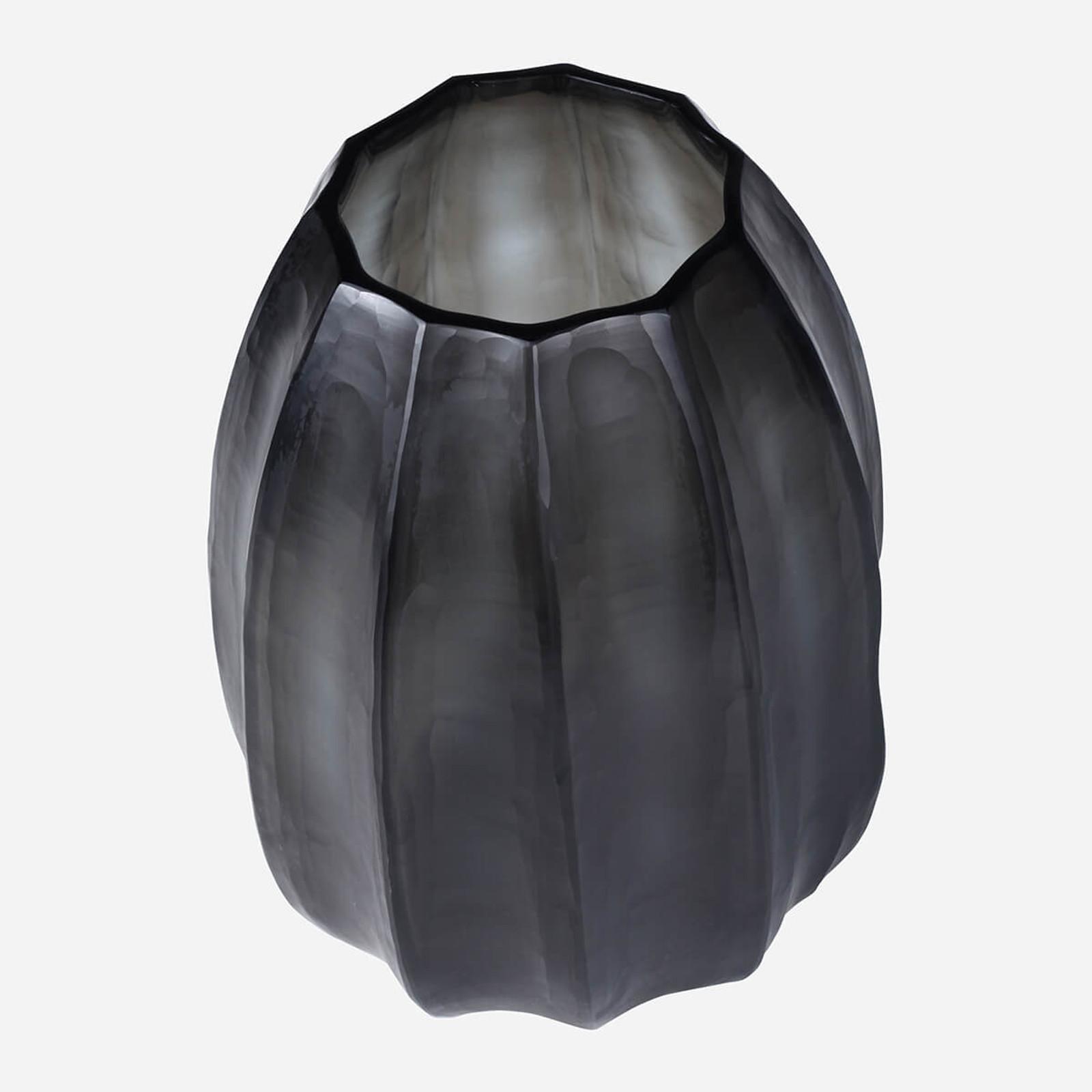 Loire Medium Vase, Indigo