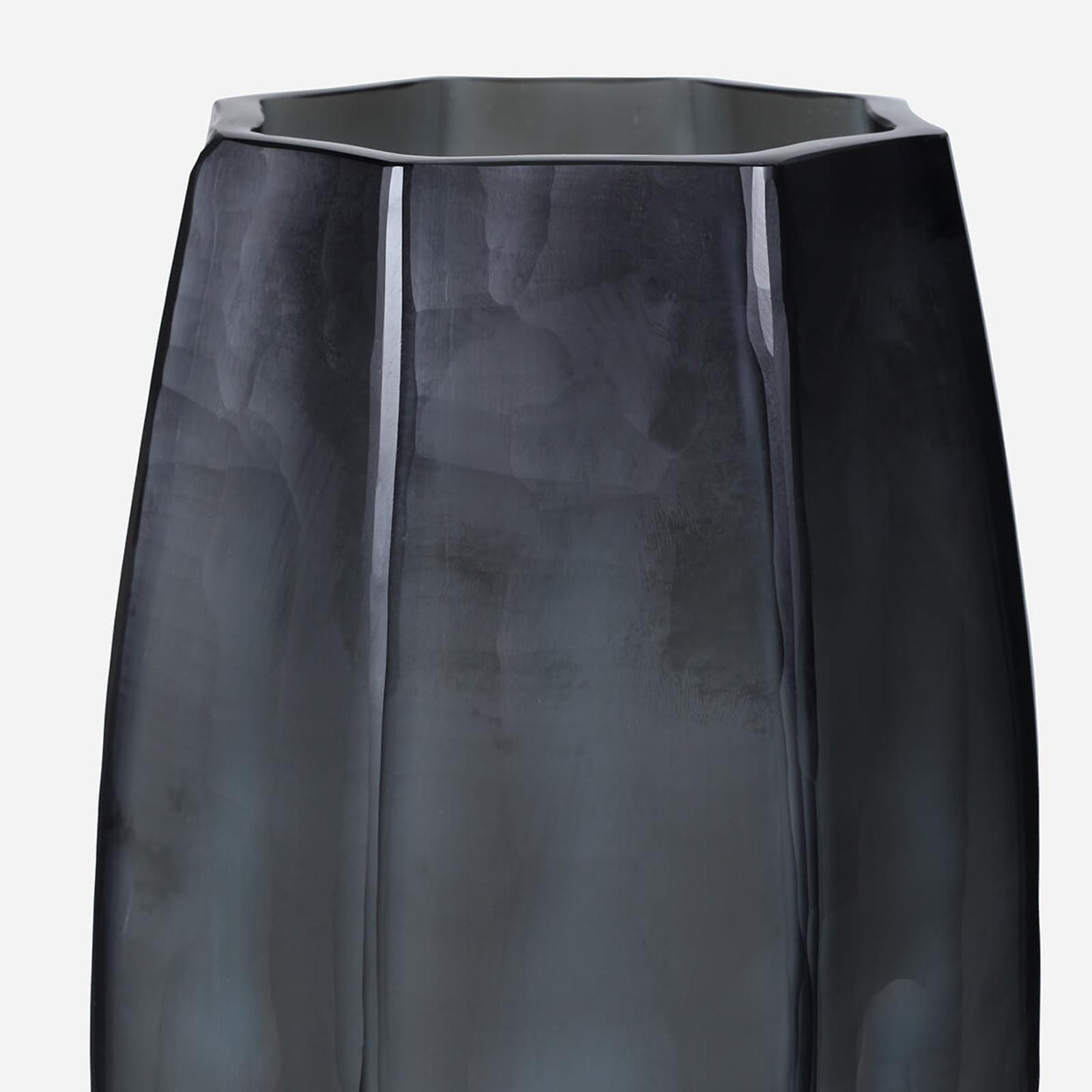 Loire Tall Vase, Indigo