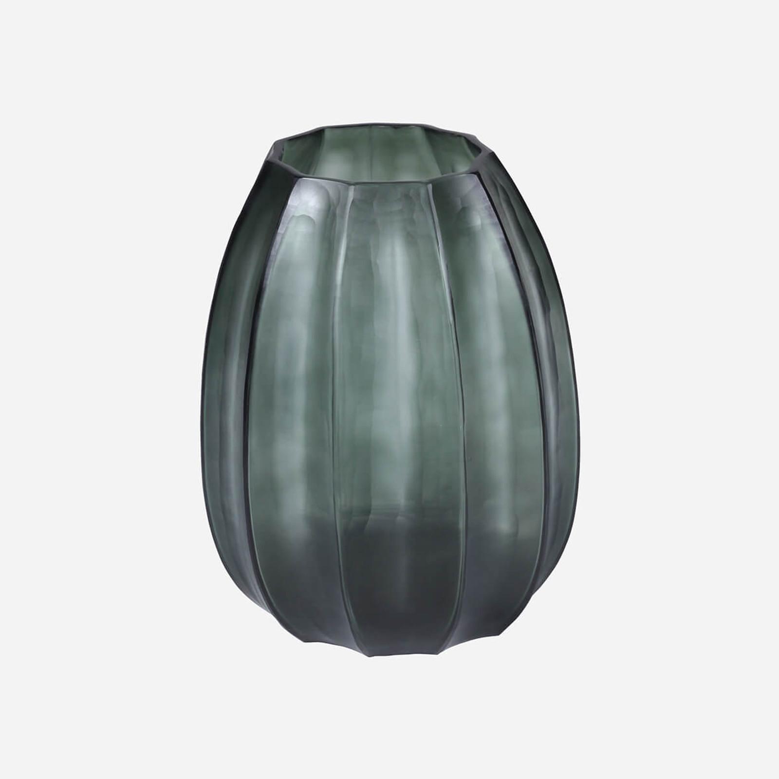 Loire Medium Vase, Light Steel