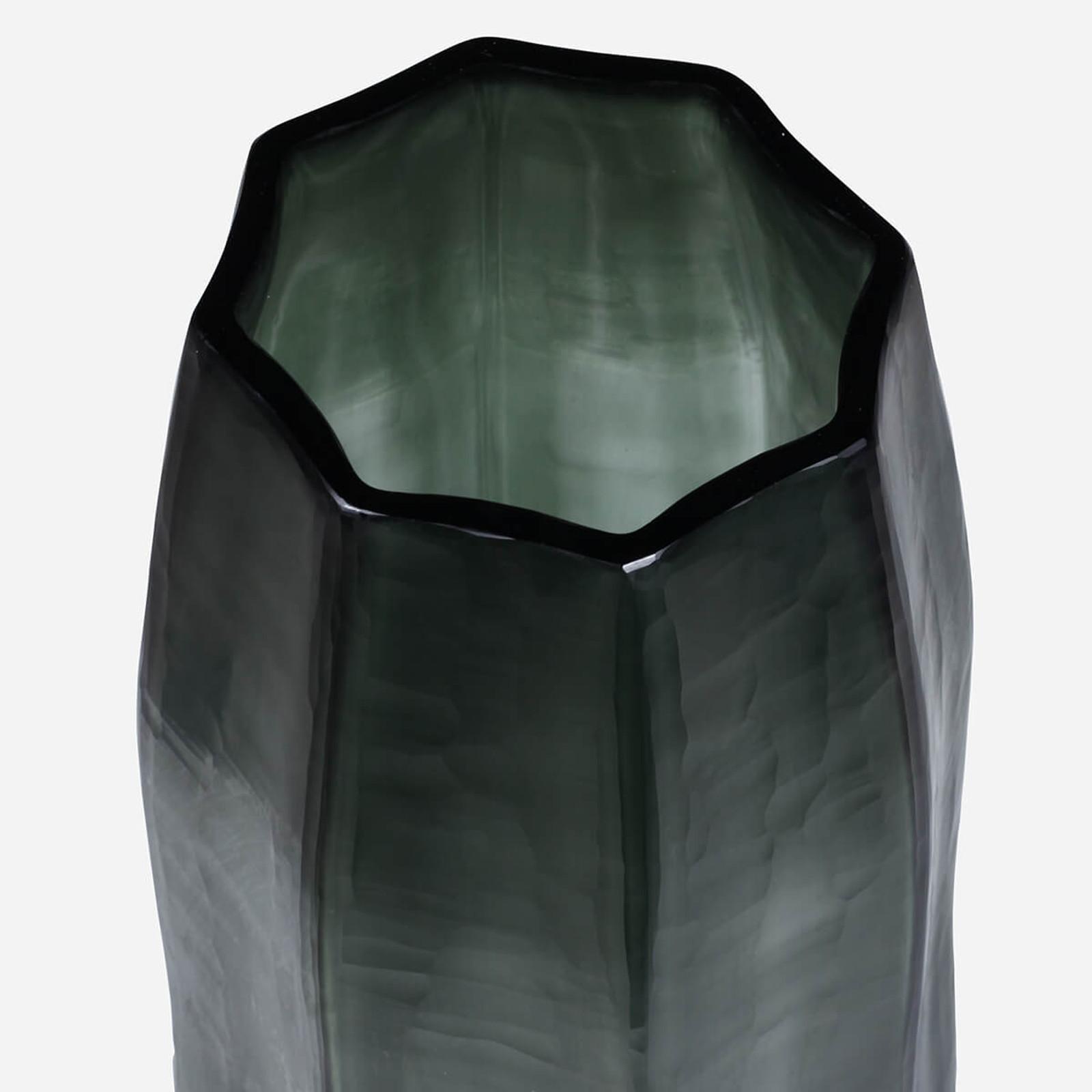 Loire Tall Vase, Light Steel