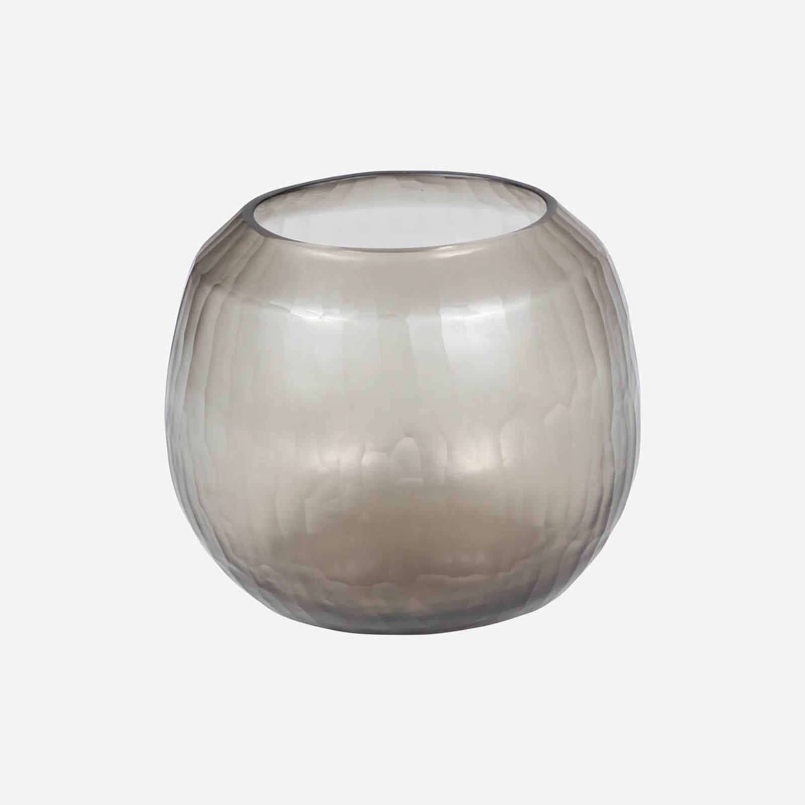 Rhone Medium Vase, Smoke