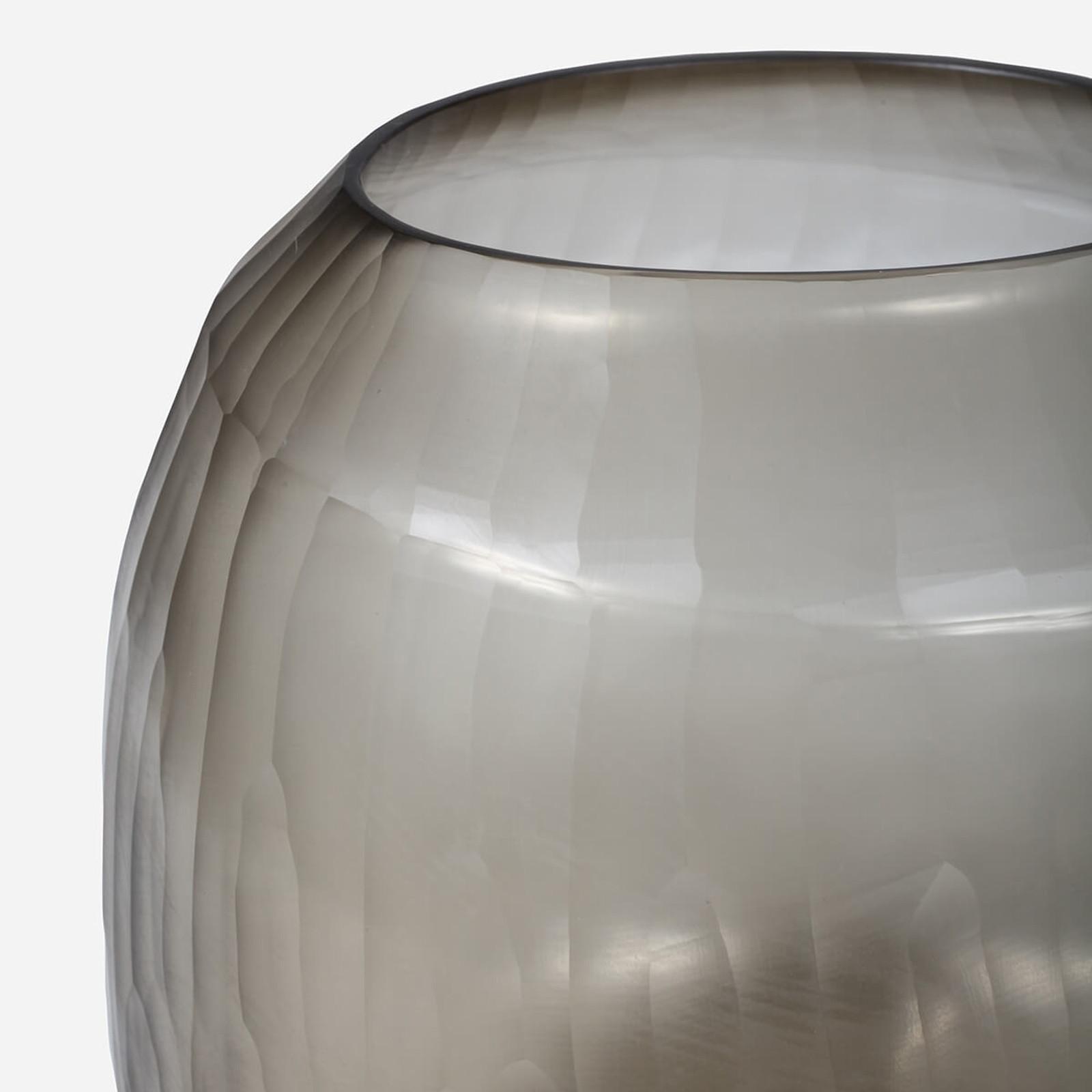 Rhone Large Vase, Smoke