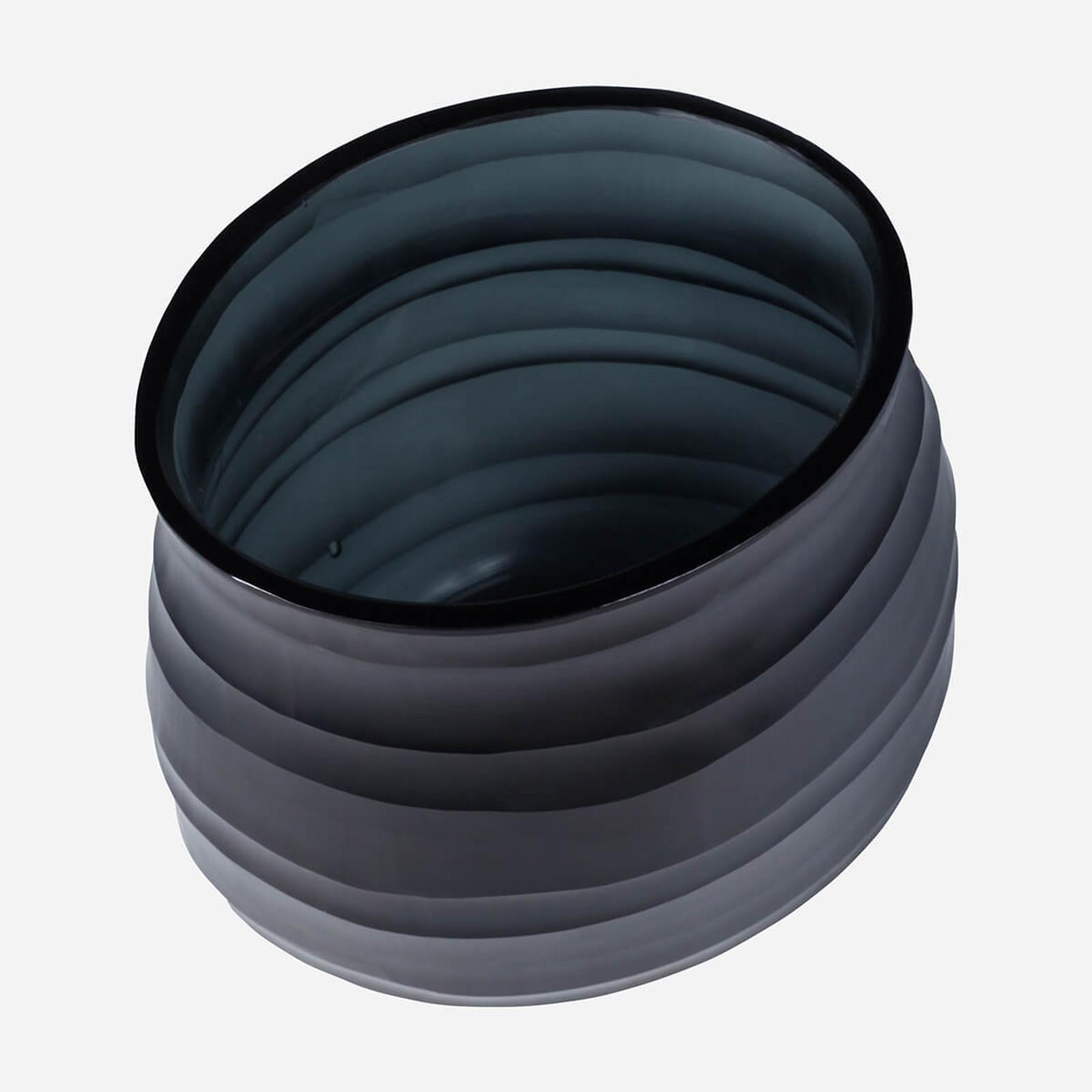 Escaut Small Vase, Dark Indigo