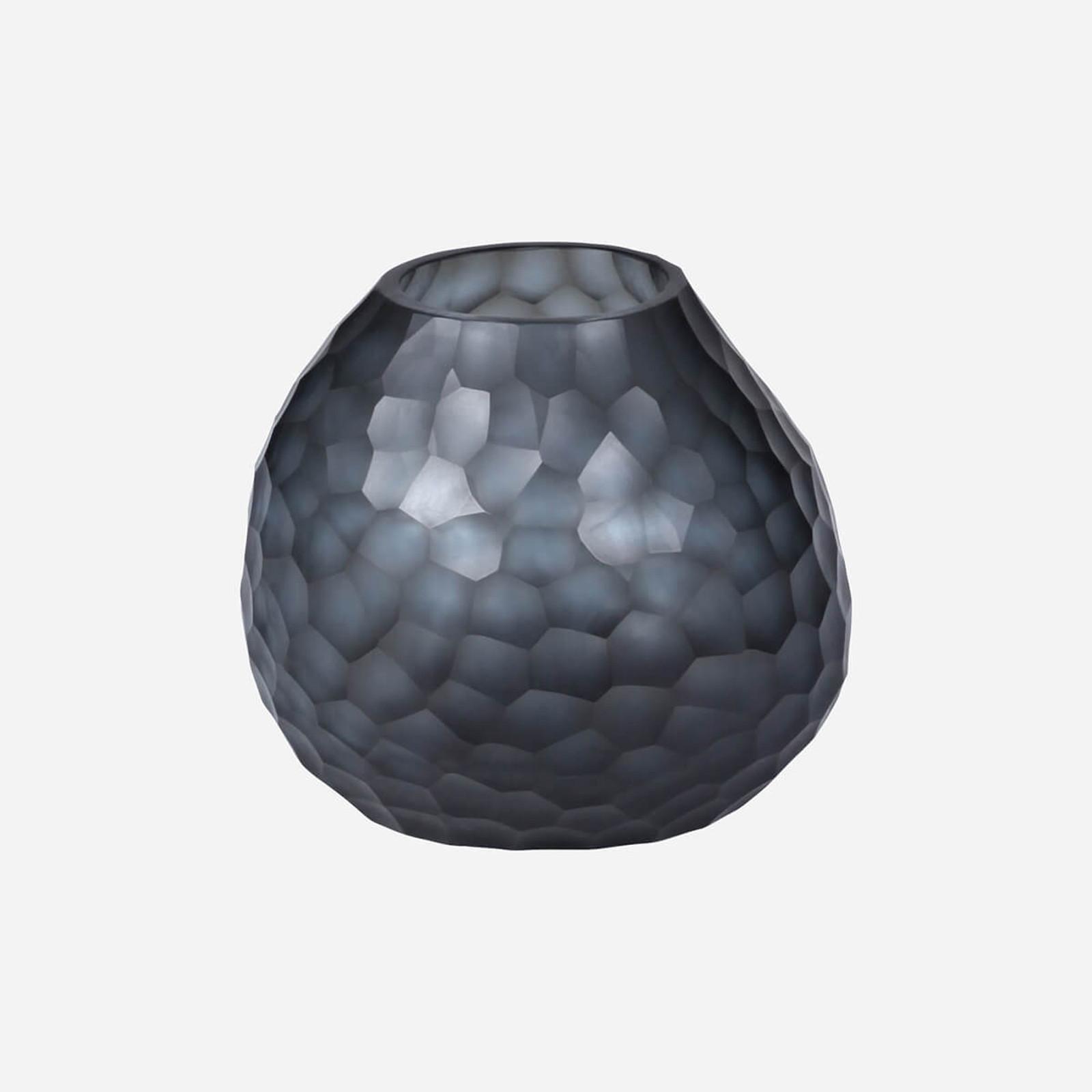 Somme Round Vase, Indigo