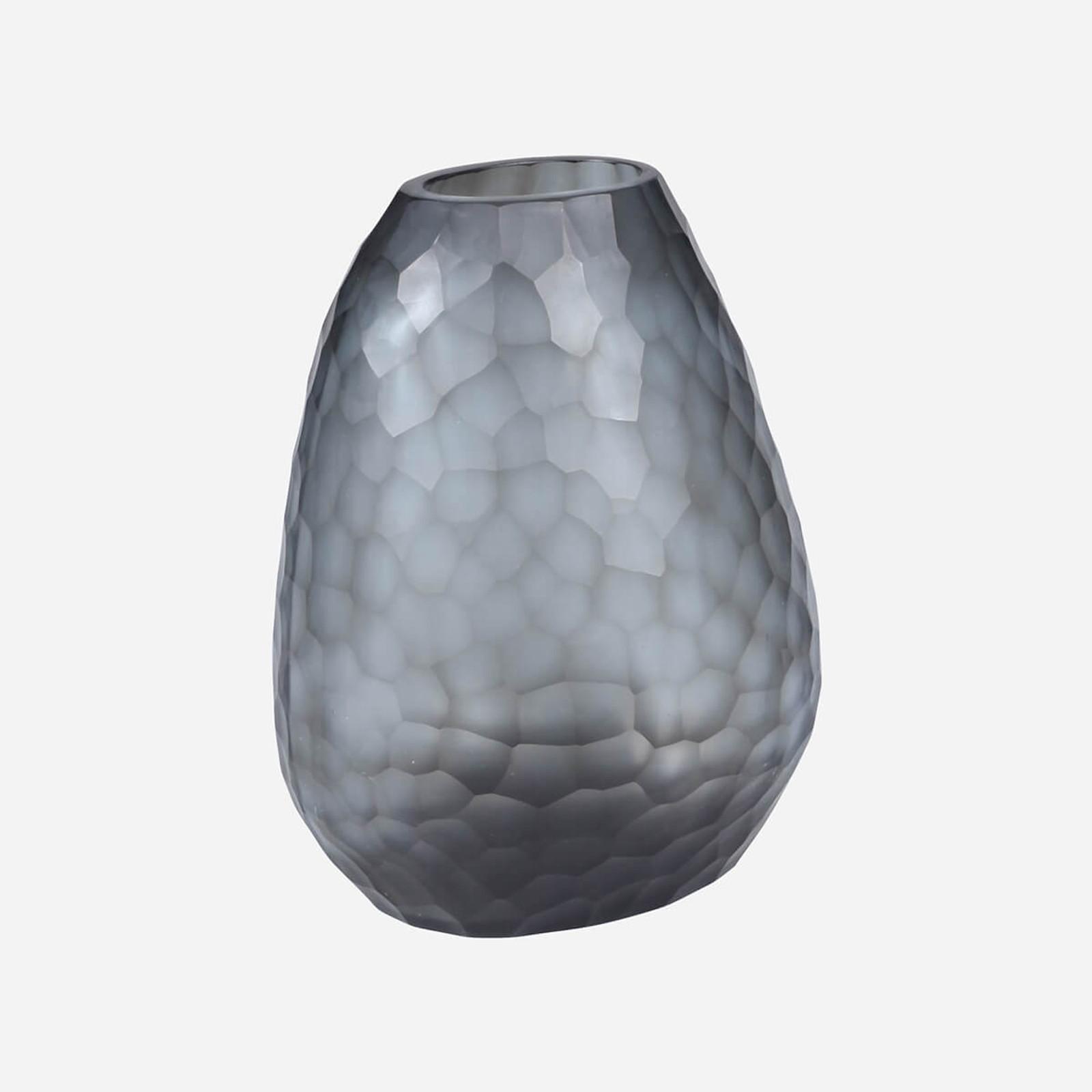 Somme Tall Vase, Indigo