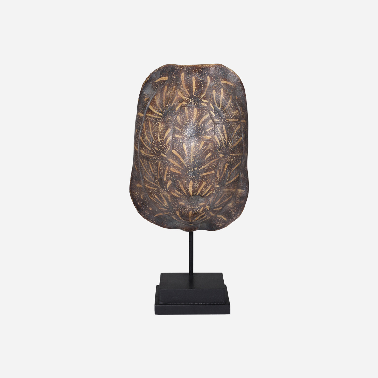 Faux Ornate Box Tortoise Shell on Stand