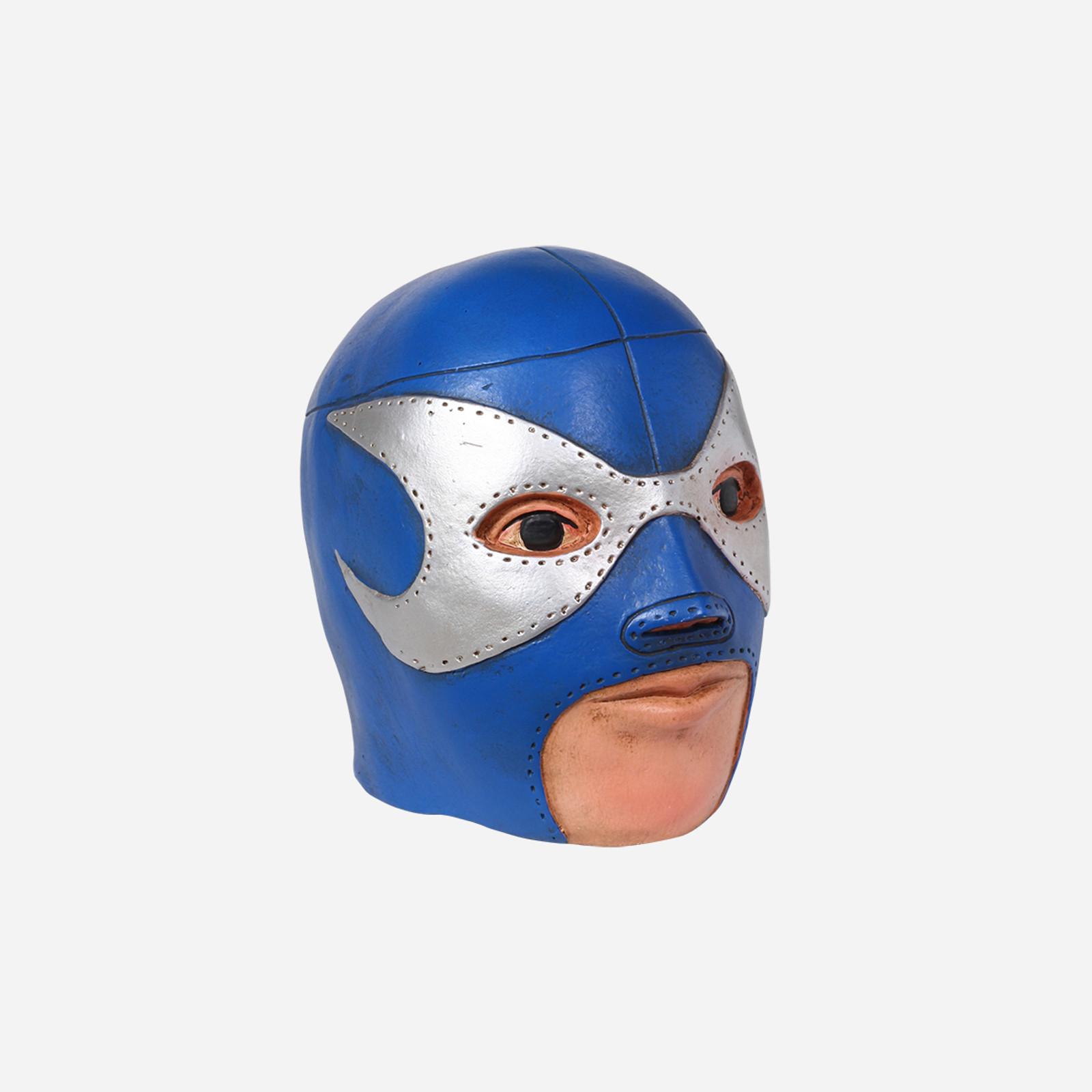 Lizmark Wrestler Head Coin Bank