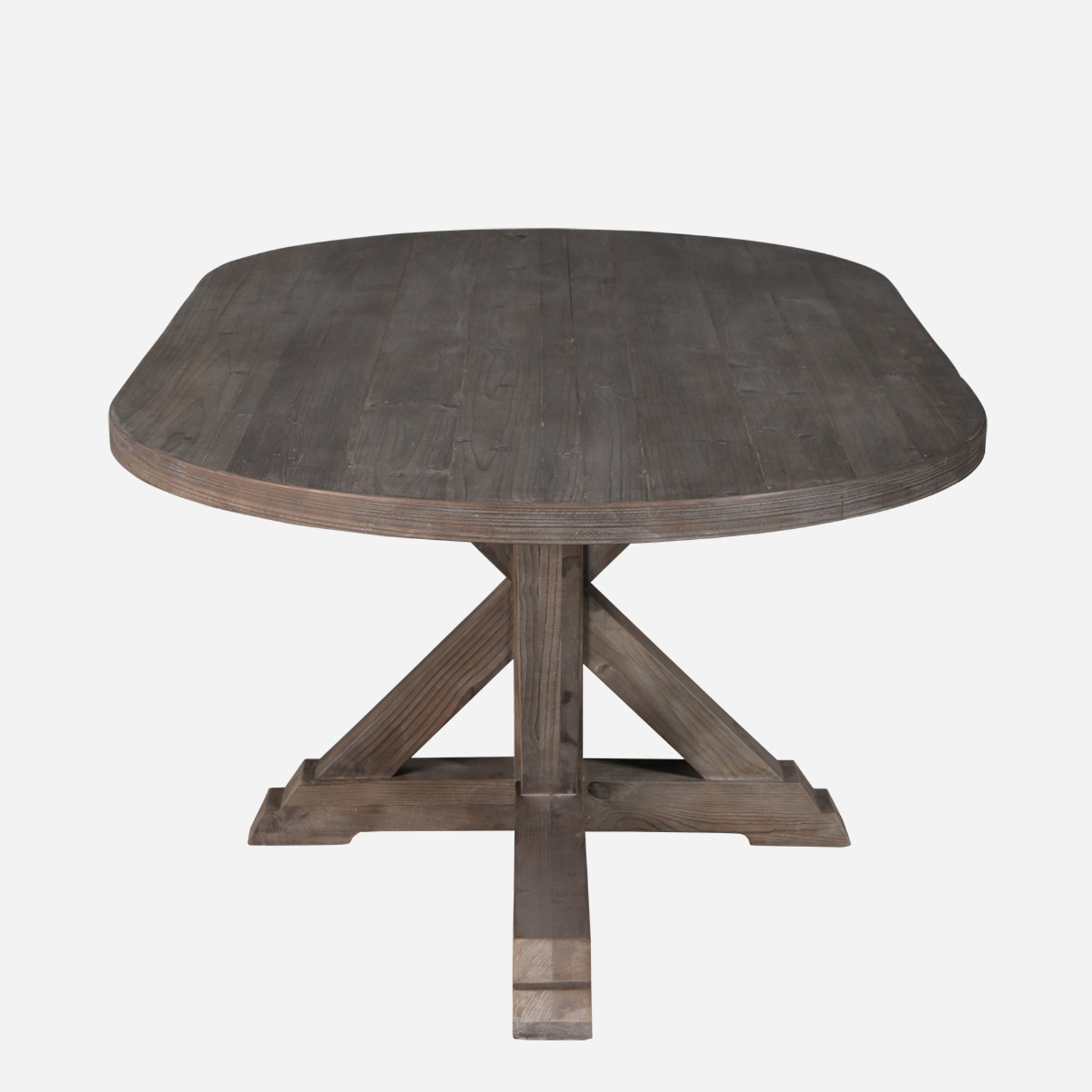 Laquais Oval Dining Table
