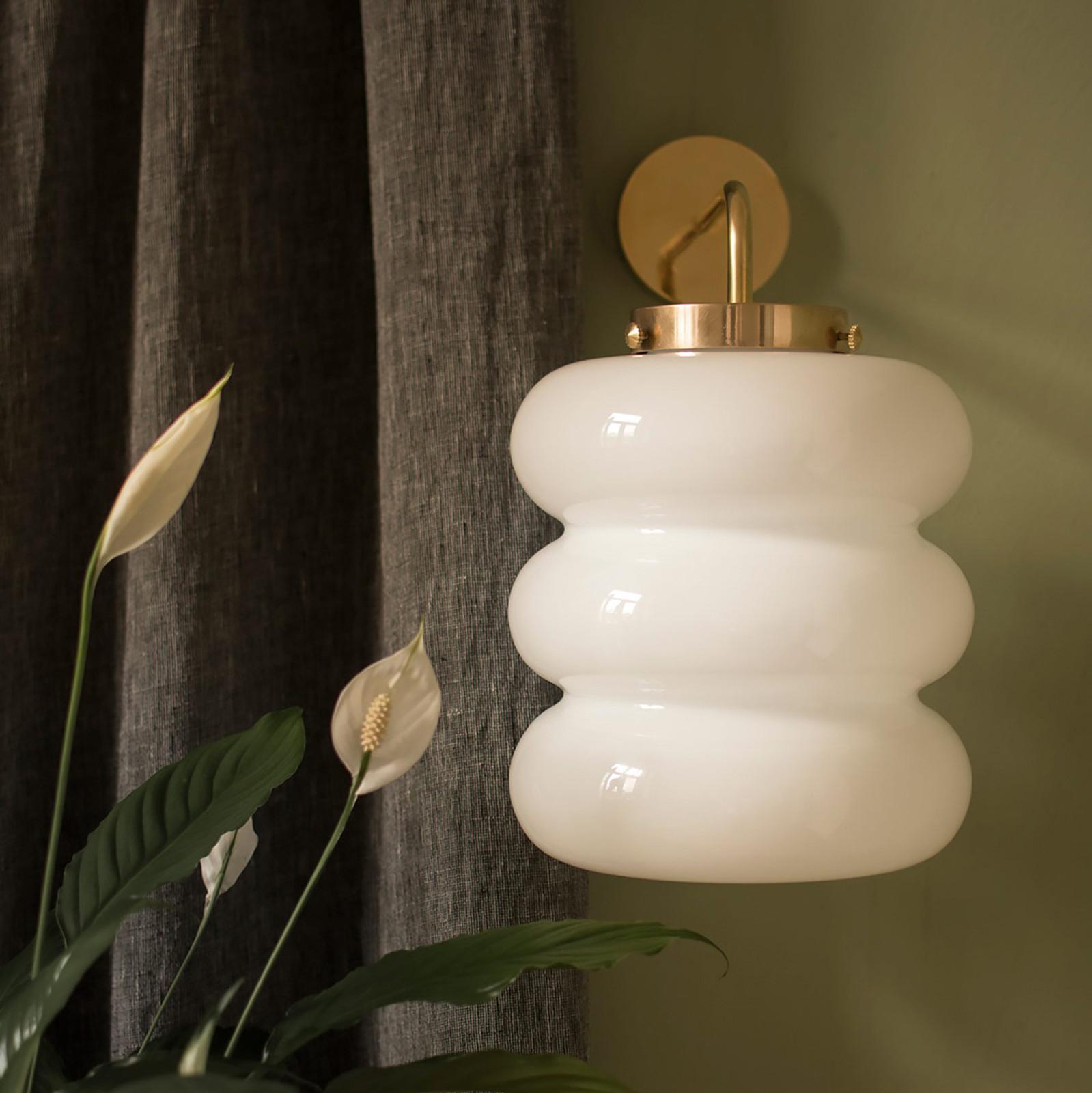 Glass Wall Lamp Bibe