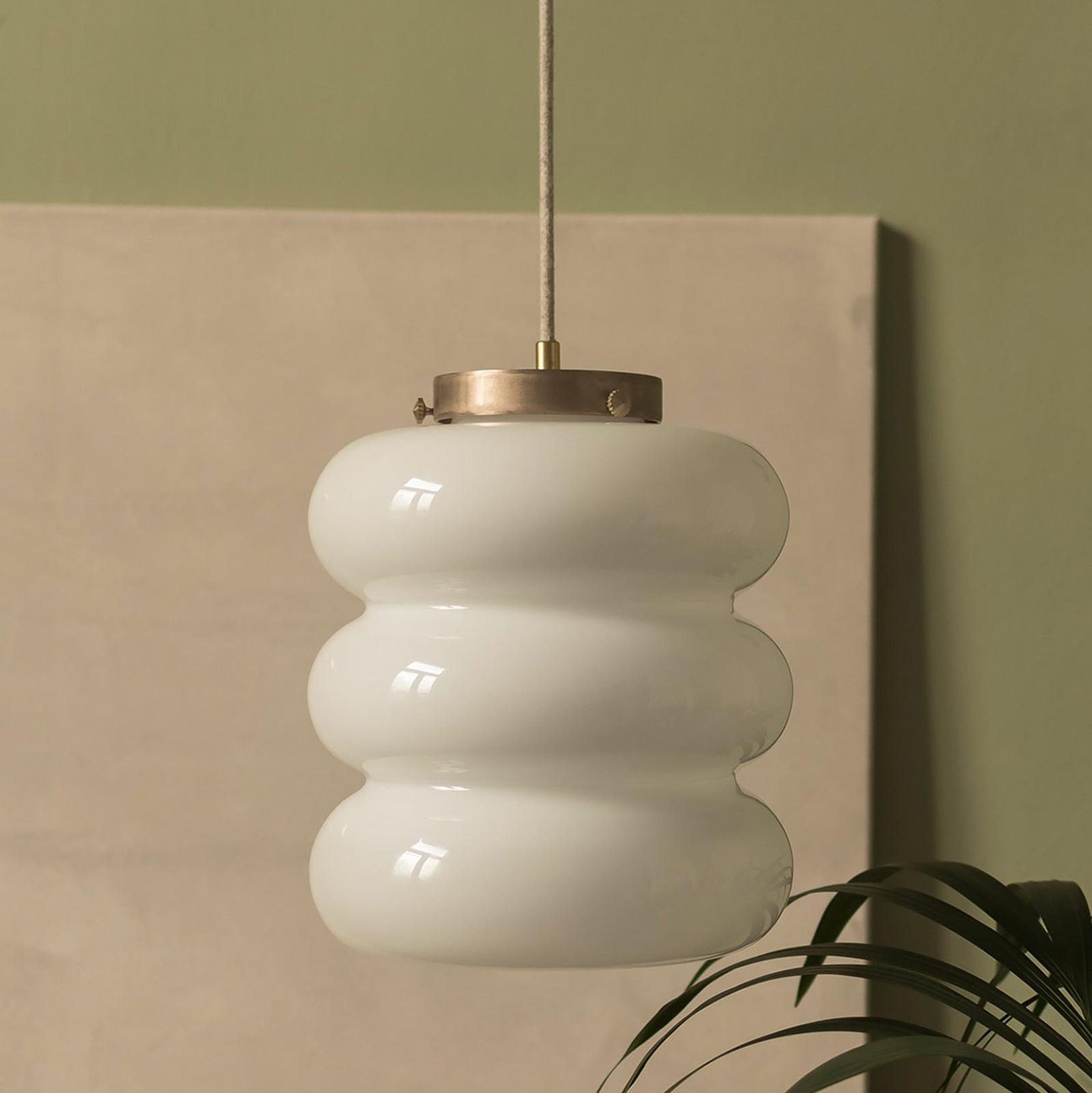 Glass Pendant Light Bibe