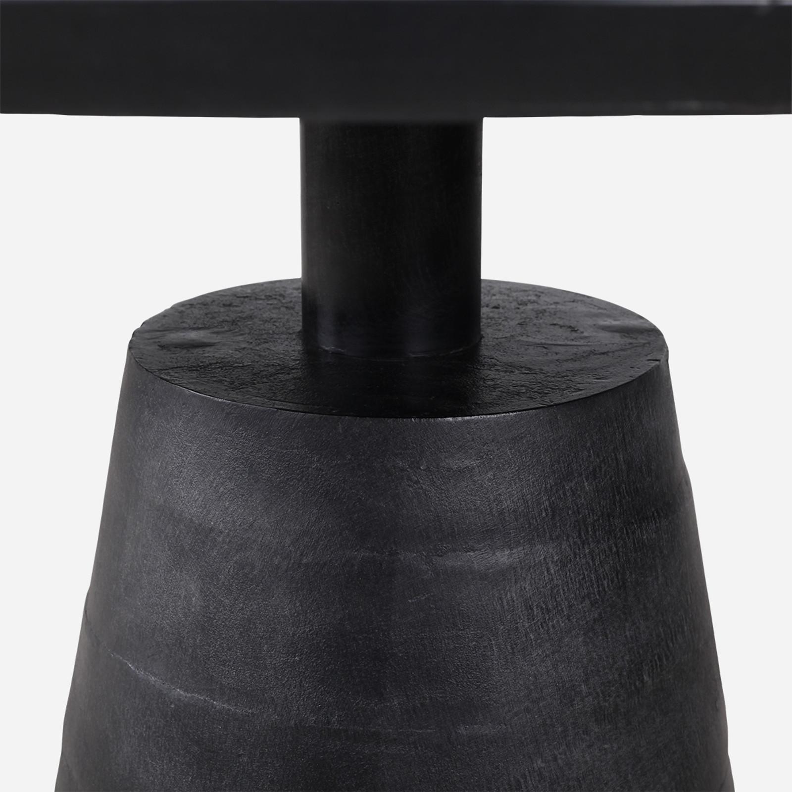 Black Scupper Table, 48in
