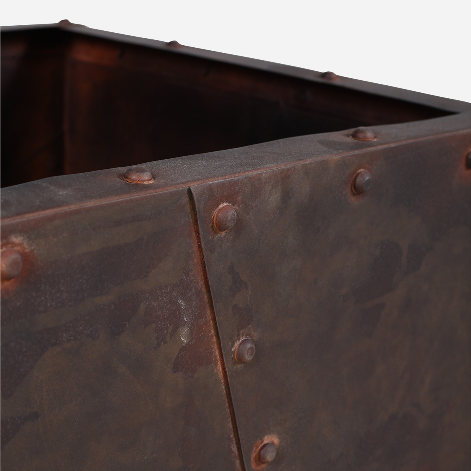 Rivitted Planter, Small