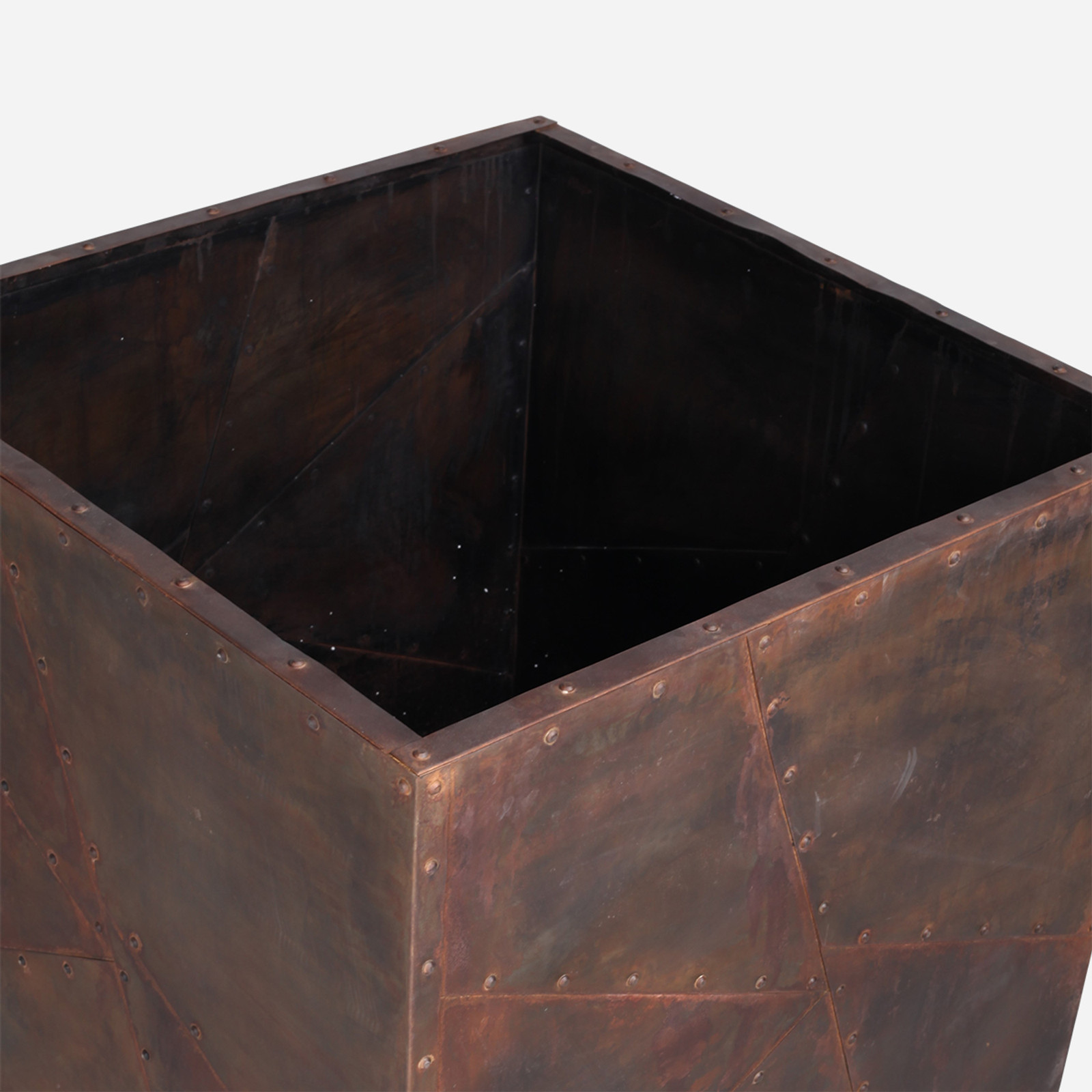 Rivitted Planter, Large