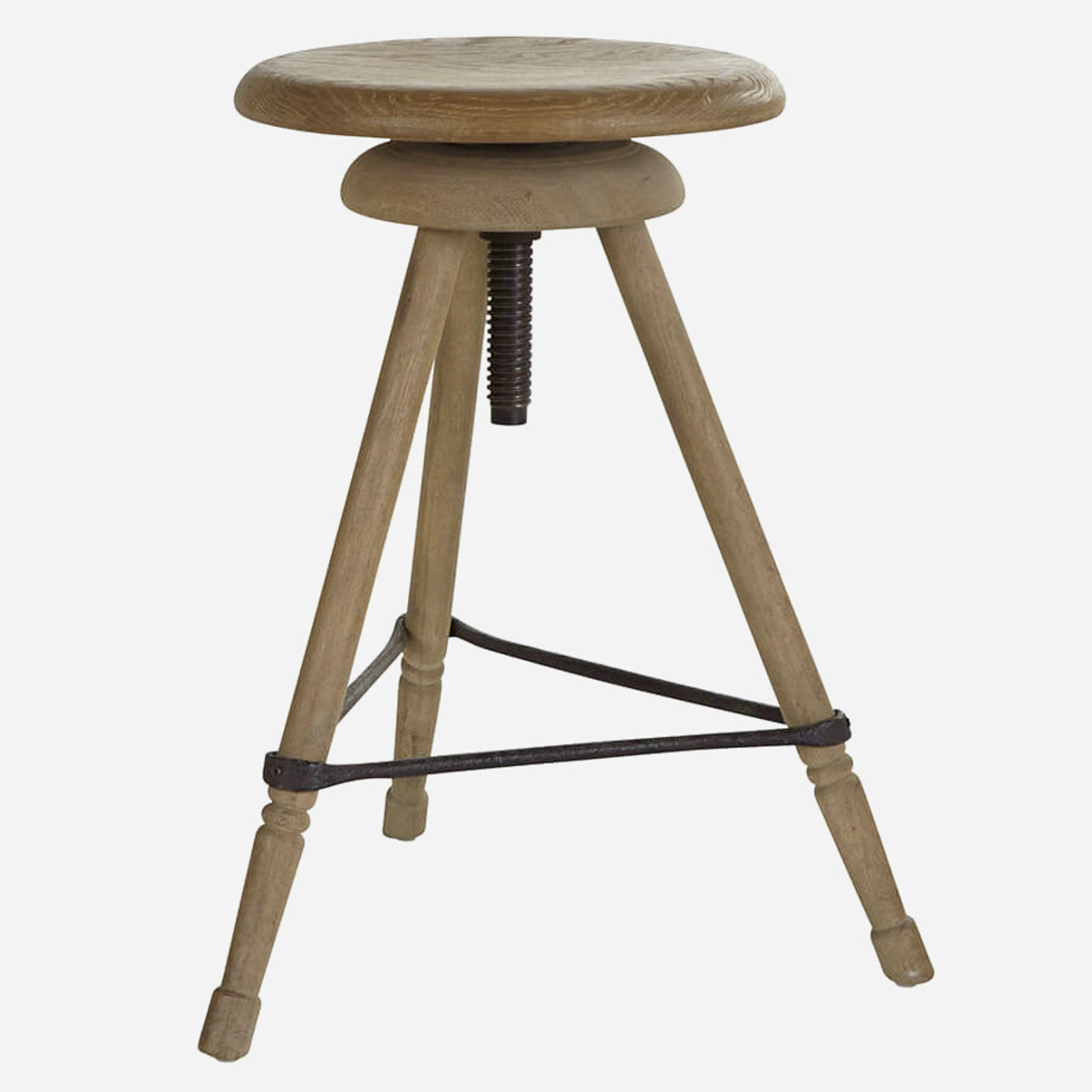Adjustable Tripod Stool, Short
