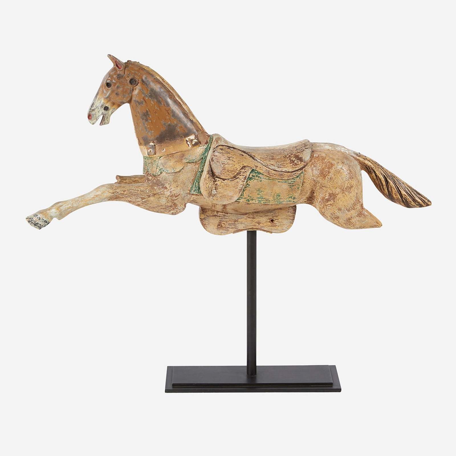 Carousel Horse on Stand
