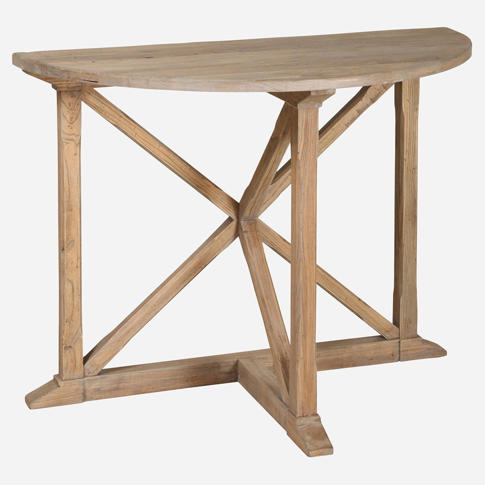 Lourdes Demilune Table