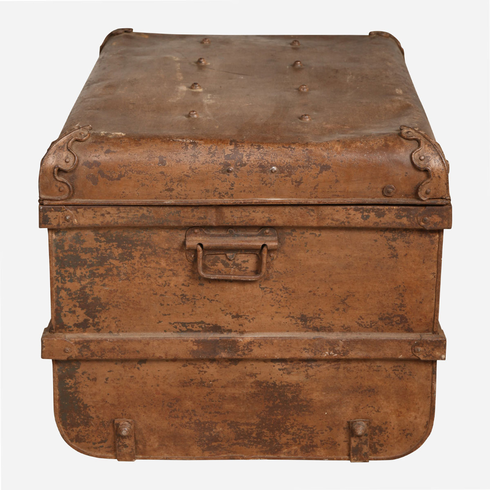 Iron Trunk, Light Brown
