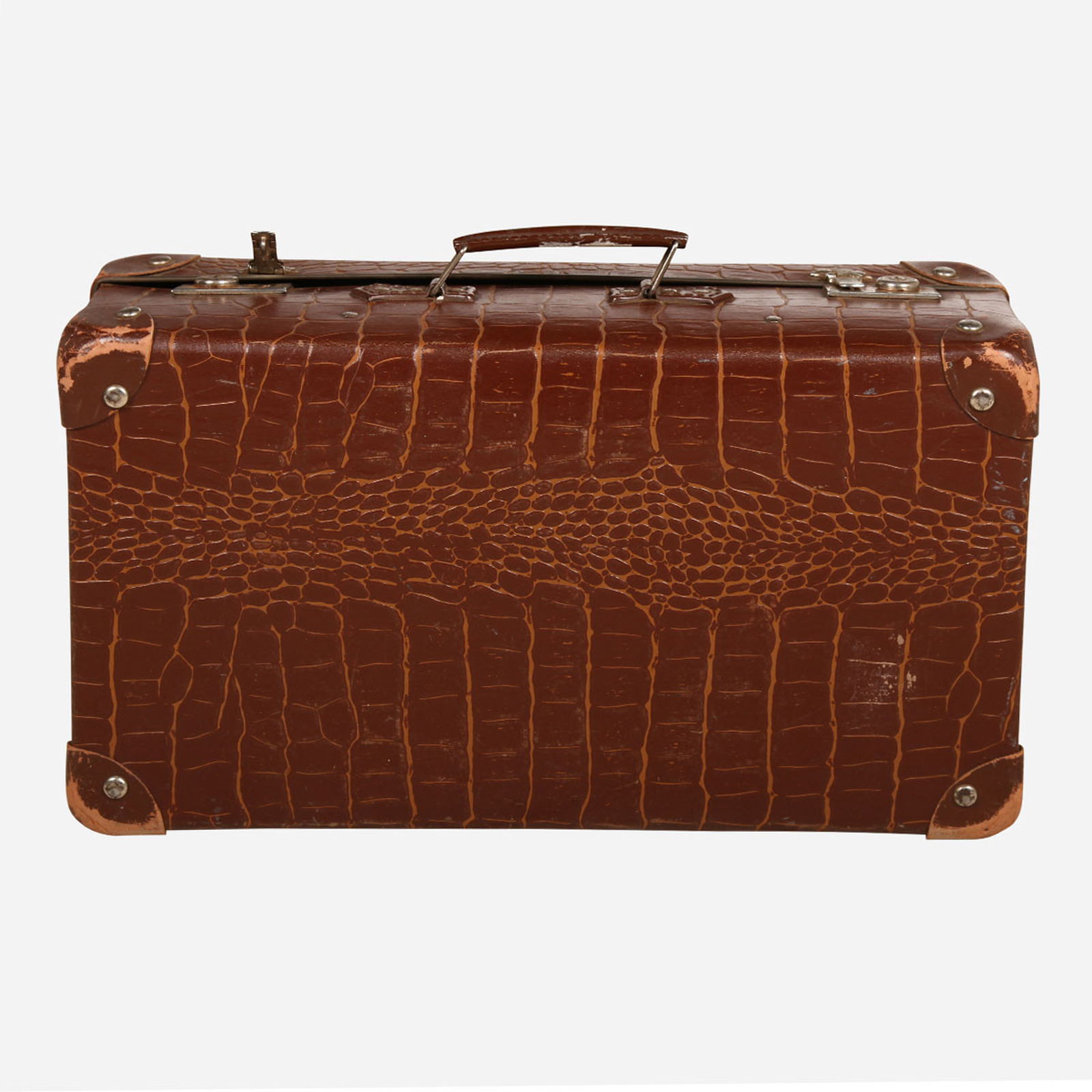 Vintage Suitcase, Alligator