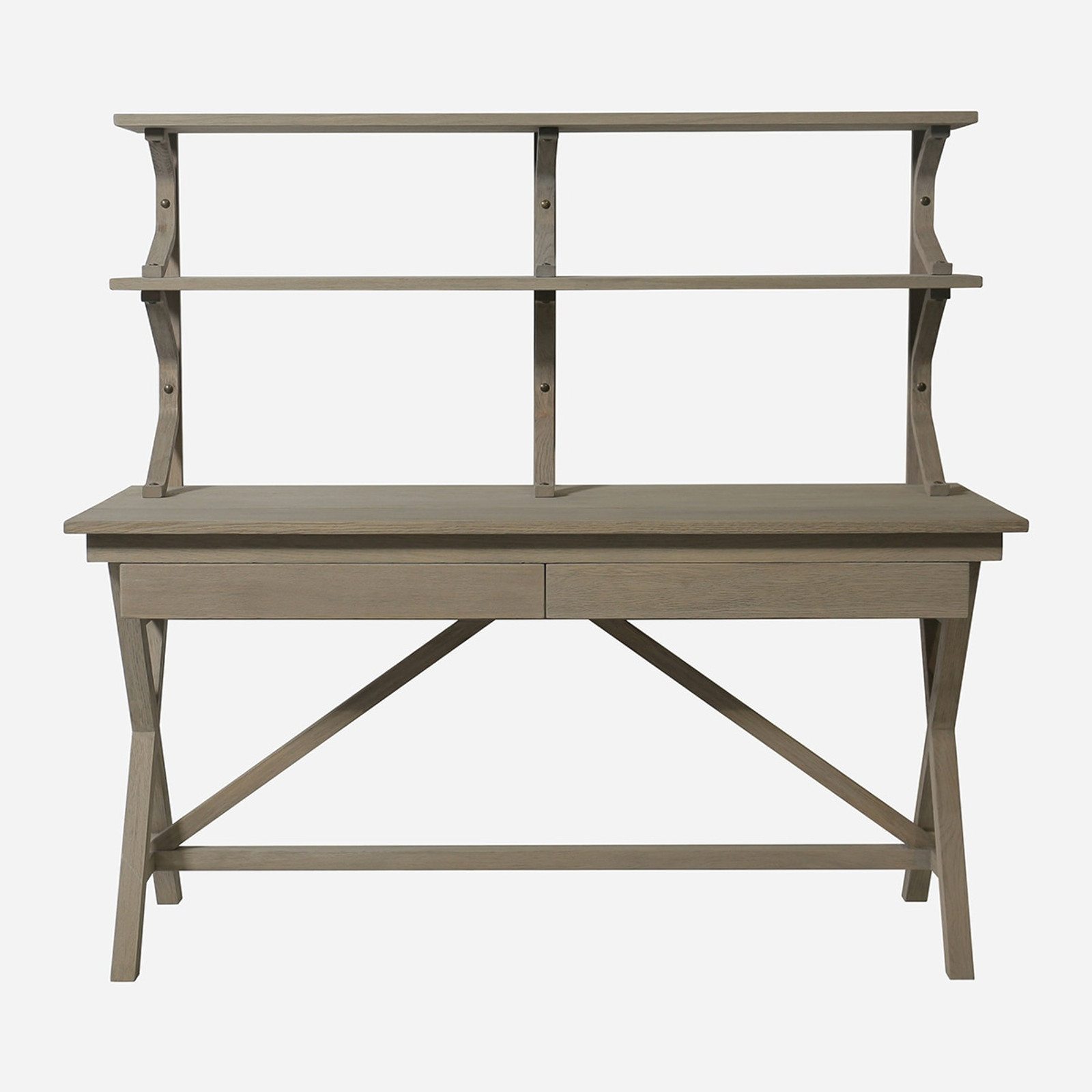 Julia Table With Shelves