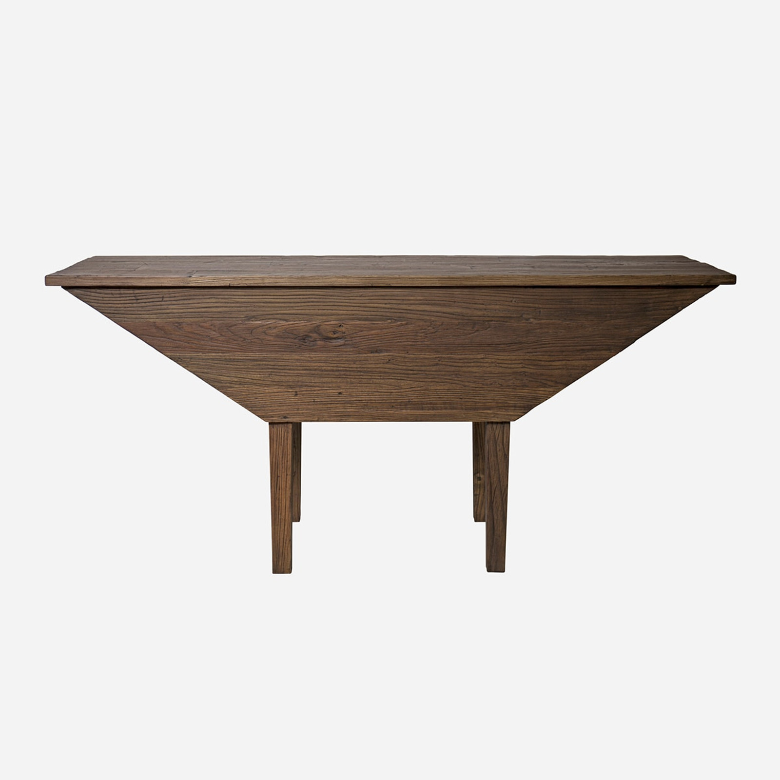 Trapezoid Console Table