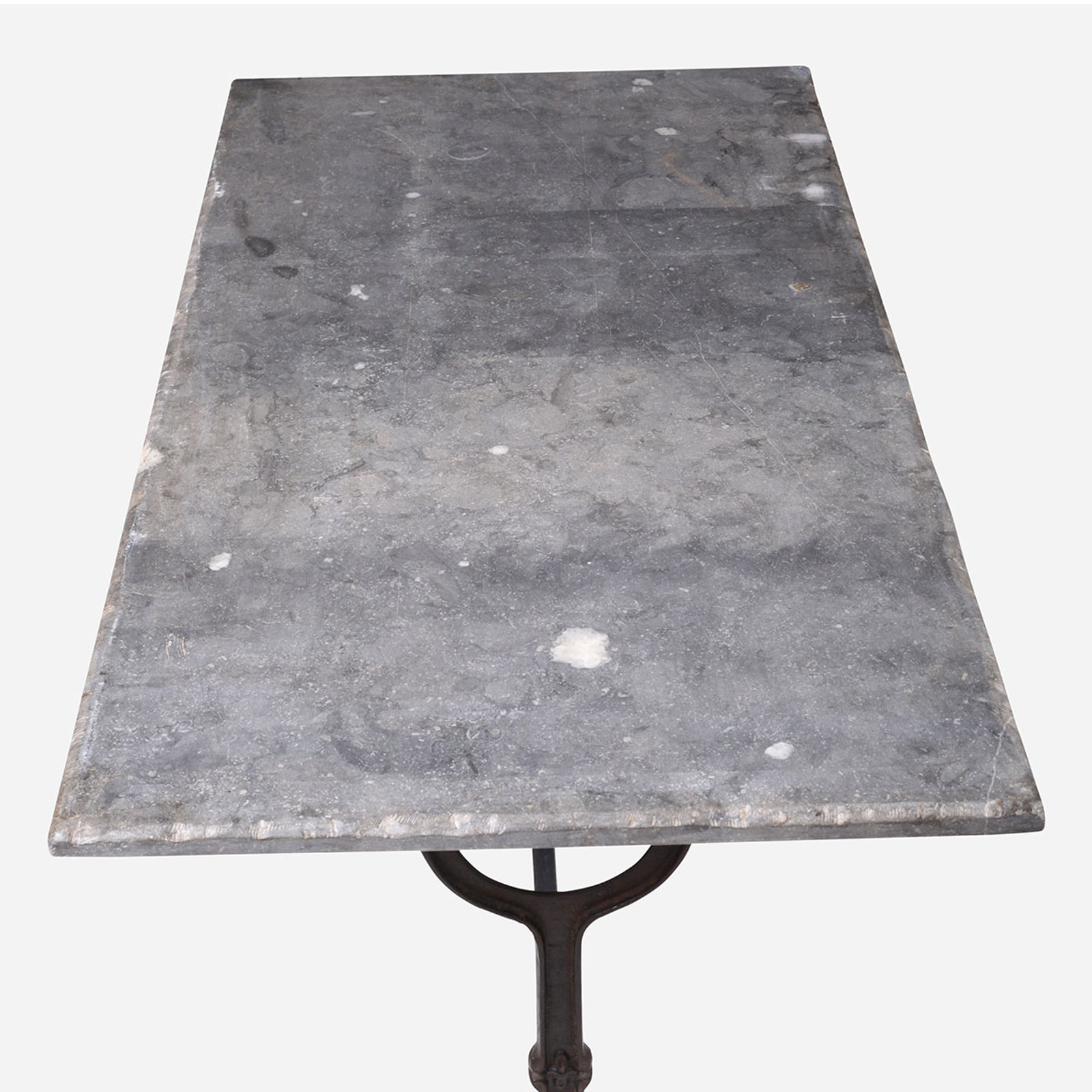Blue Stone Bistro Table, Rectangle