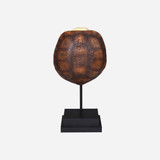 Faux Gopher Tortoise Shell on Stand
