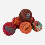 Recycled Sari Balls