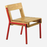 Pallet Chair, Red